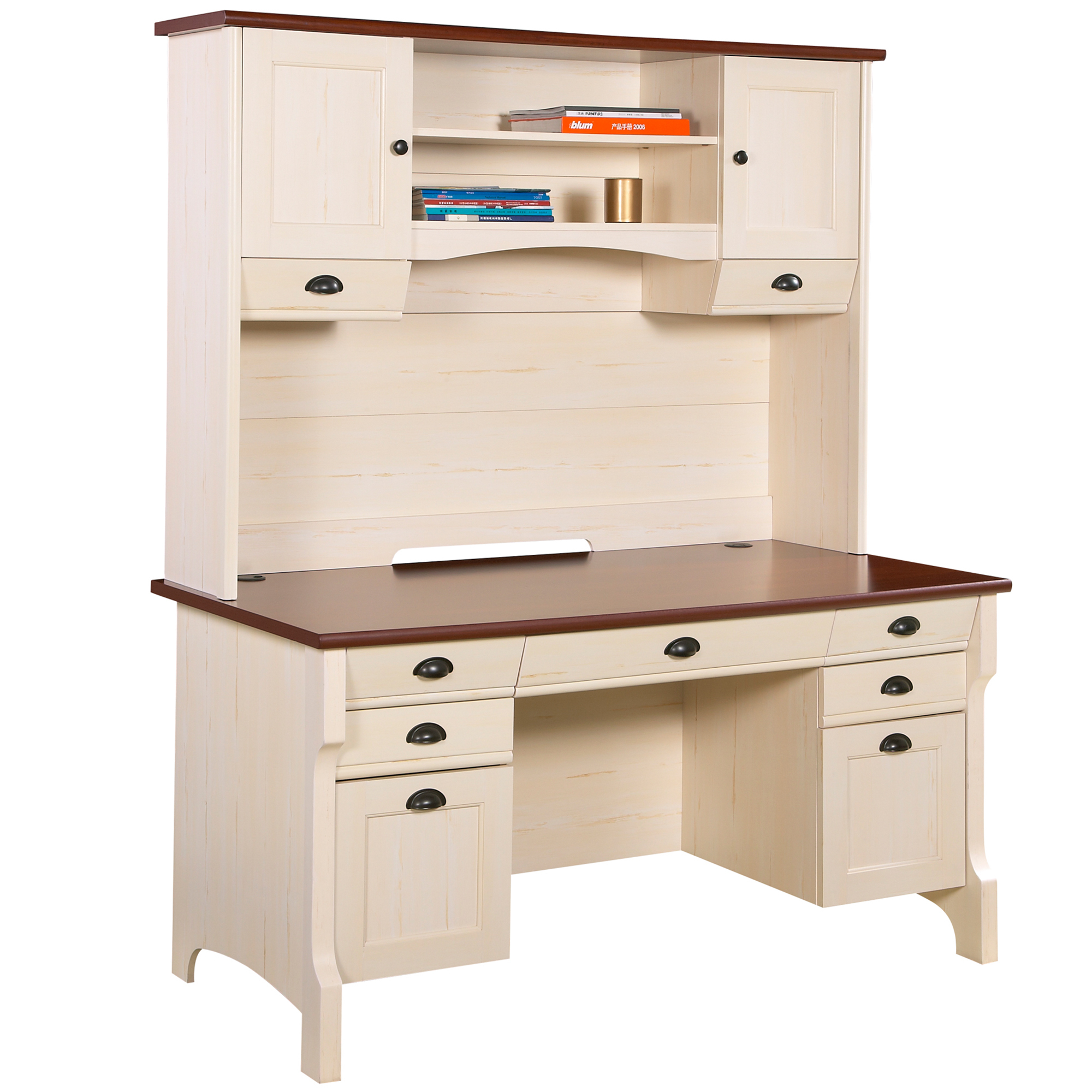 com with overstock and sauder desk orchard drawers hills for computer hutch onsingularity less