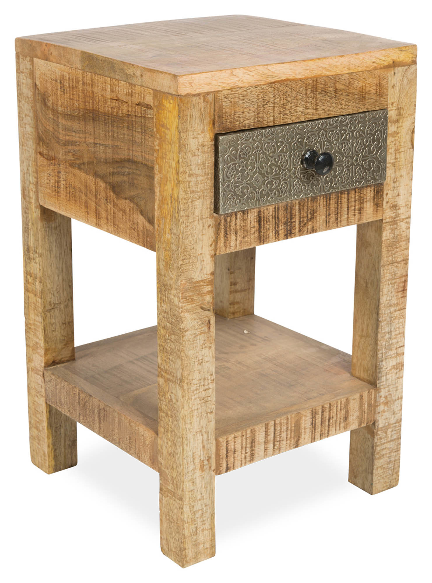 pressed metal furniture. SKU #CAS1723 Tessa 1 Drawer Pressed Metal \u0026 Mango Wood Side Table Is Also Sometimes Listed Under The Following Manufacturer Numbers: SK03 Furniture N
