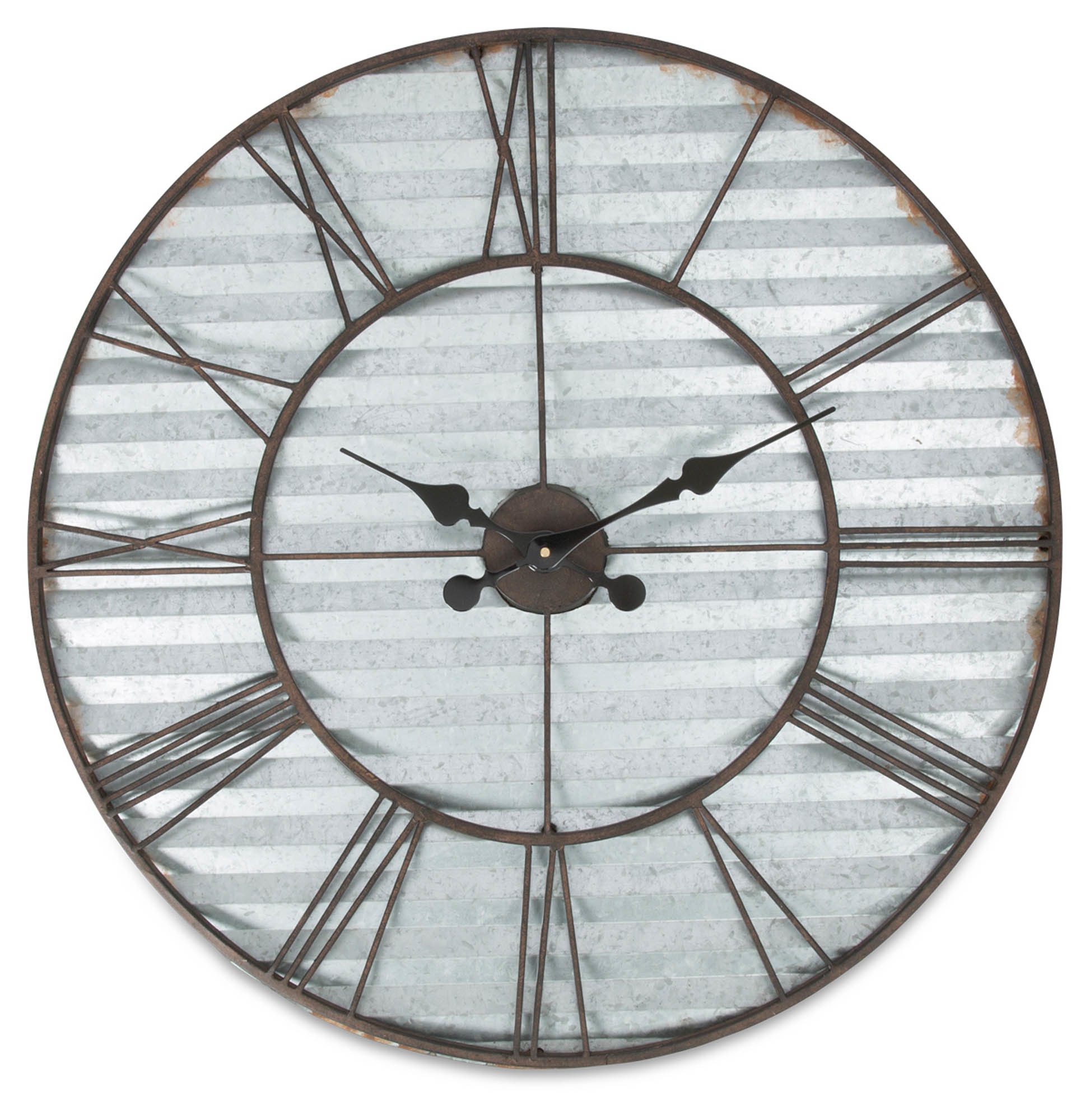 sku cas1425 industrial sheet metal wall clock is also sometimes listed under the following numbers mx07