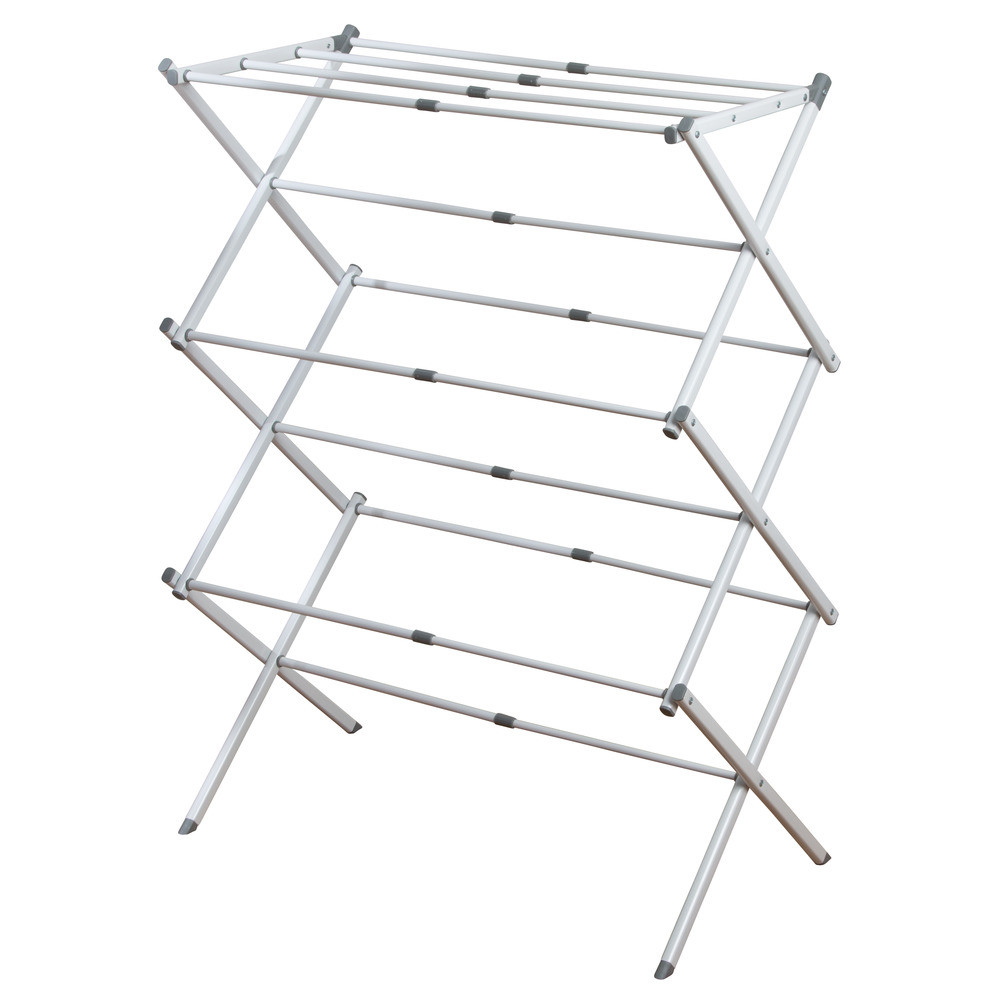 ca white kitchen dry amazon dp honey inch can rack folding silver drying do home clothes