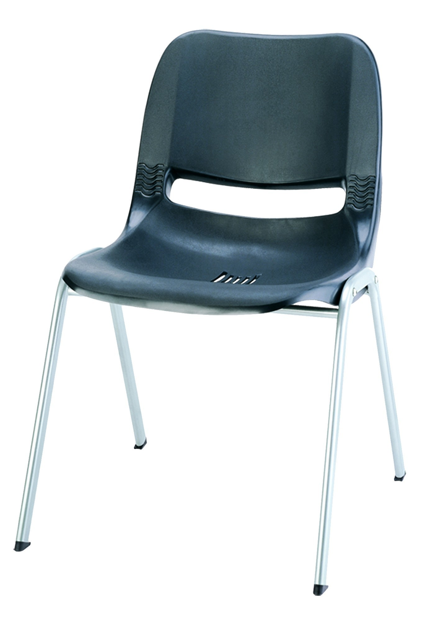 Tazz Stacking Chair In Black