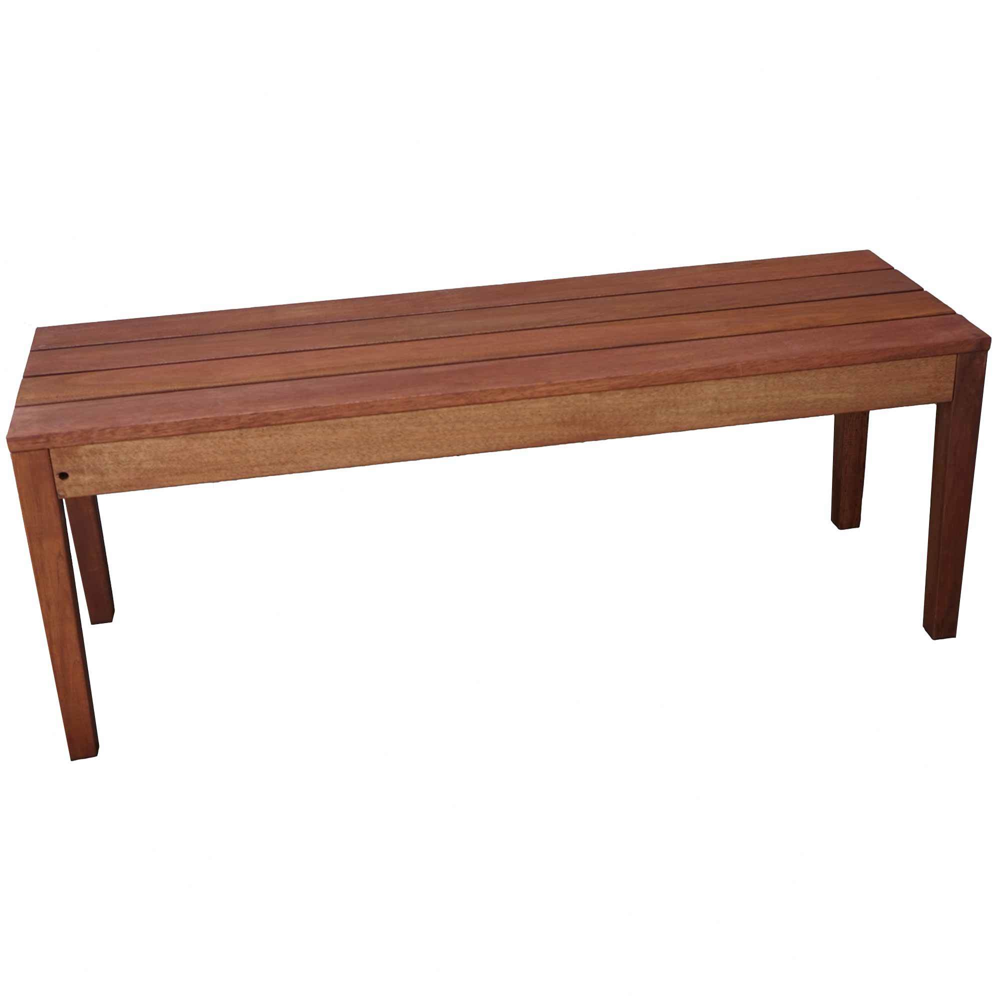 Woodlands Outdoor Furniture 2 Seater Outdoor Wooden Bench Reviews Temple Webster