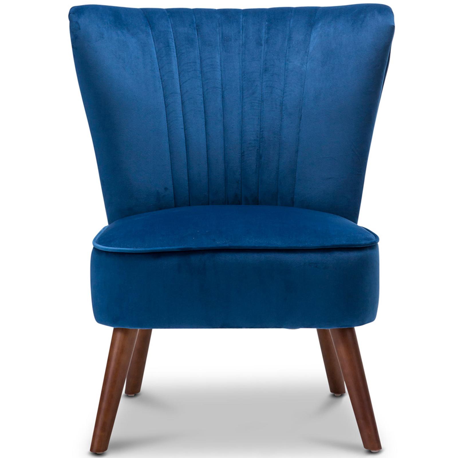 New ayana velvet slipper accent chair continental designs for New chair design