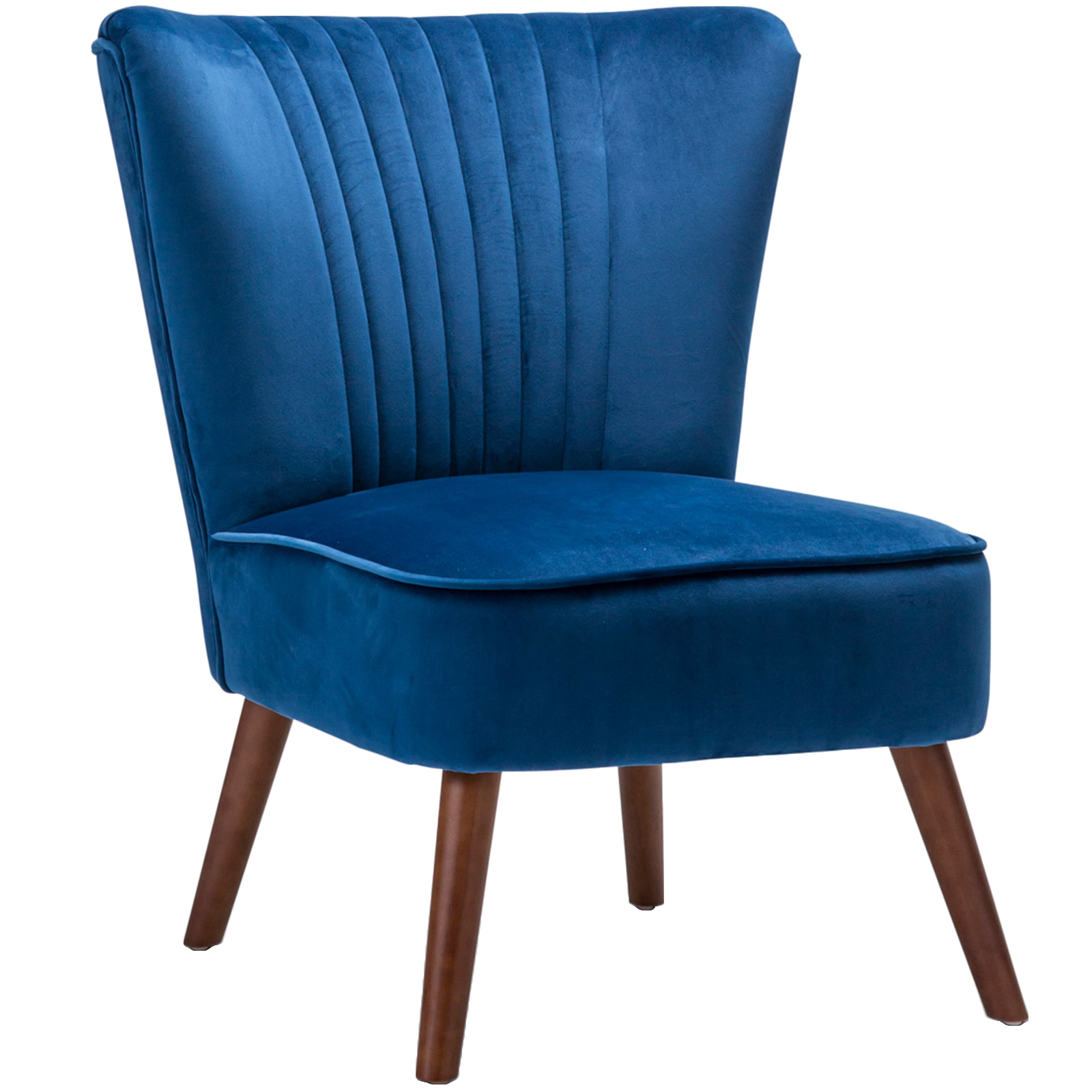 New ayana velvet slipper accent chair continental designs for Latest chairs for living room