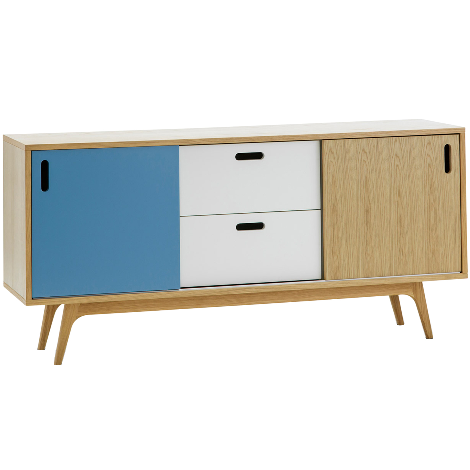 buffet wood black table products or with storage drawers cherry doors dark sideboard display console