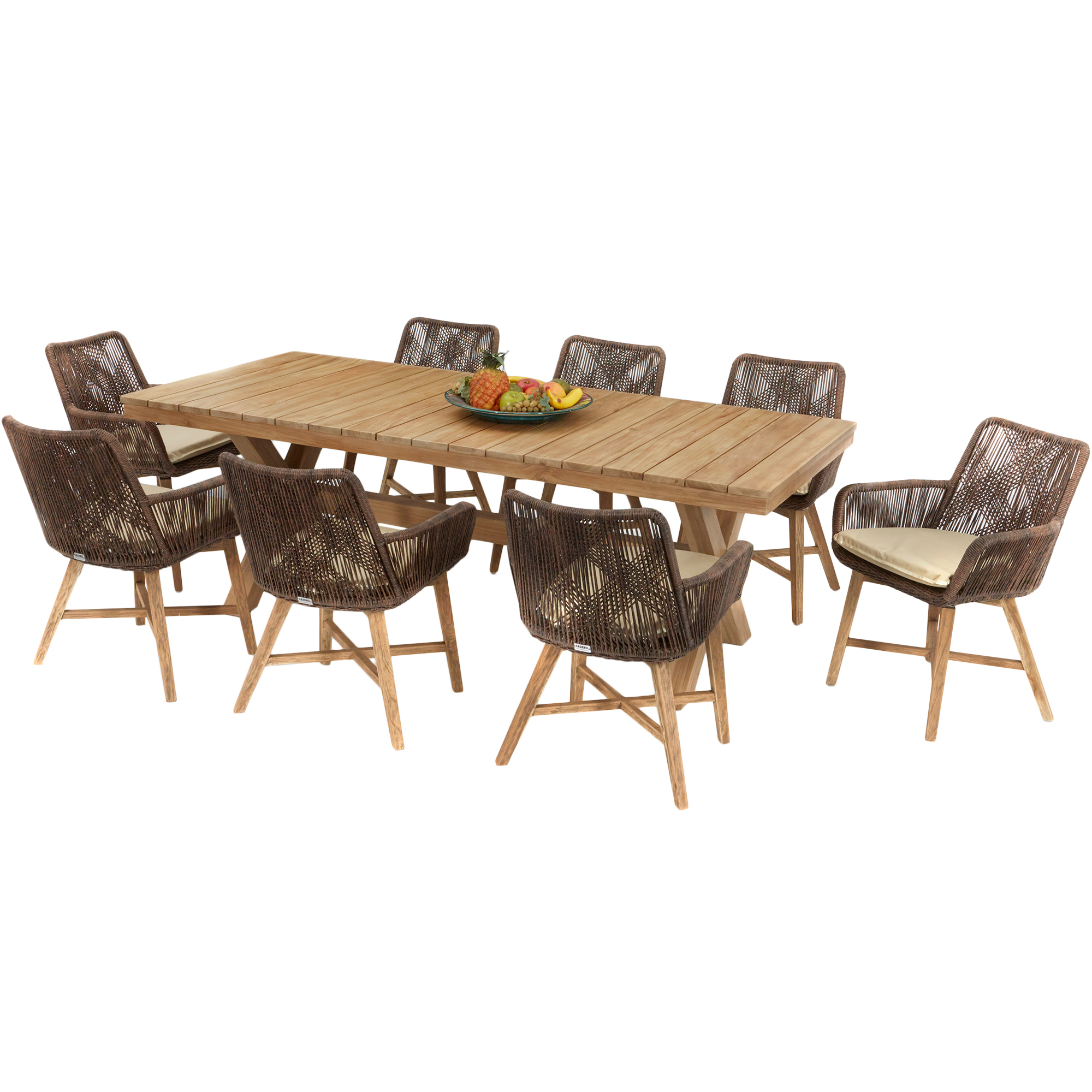 Outdoor Dining Table 8 Seater