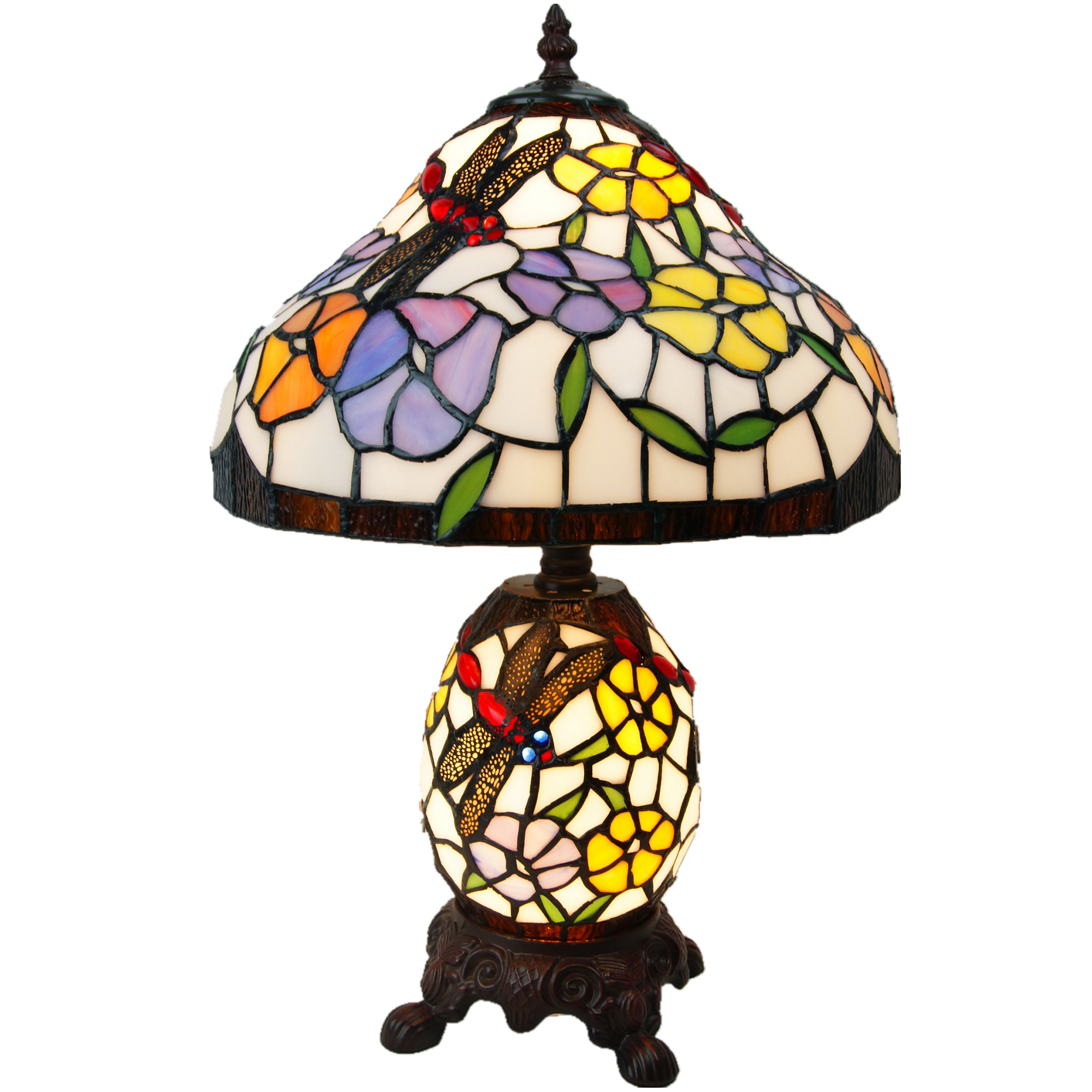 Dragonfly Tiffany Style Table Lamp Temple Webster