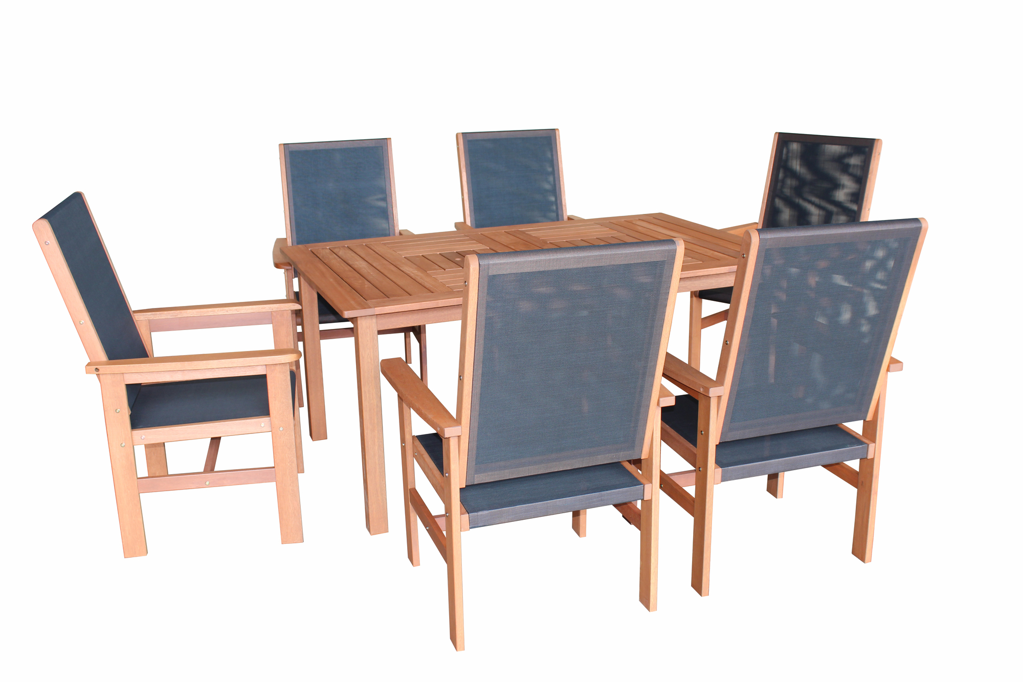 7 Piece Barossa Murray Outdoor Dining Table Chair Set