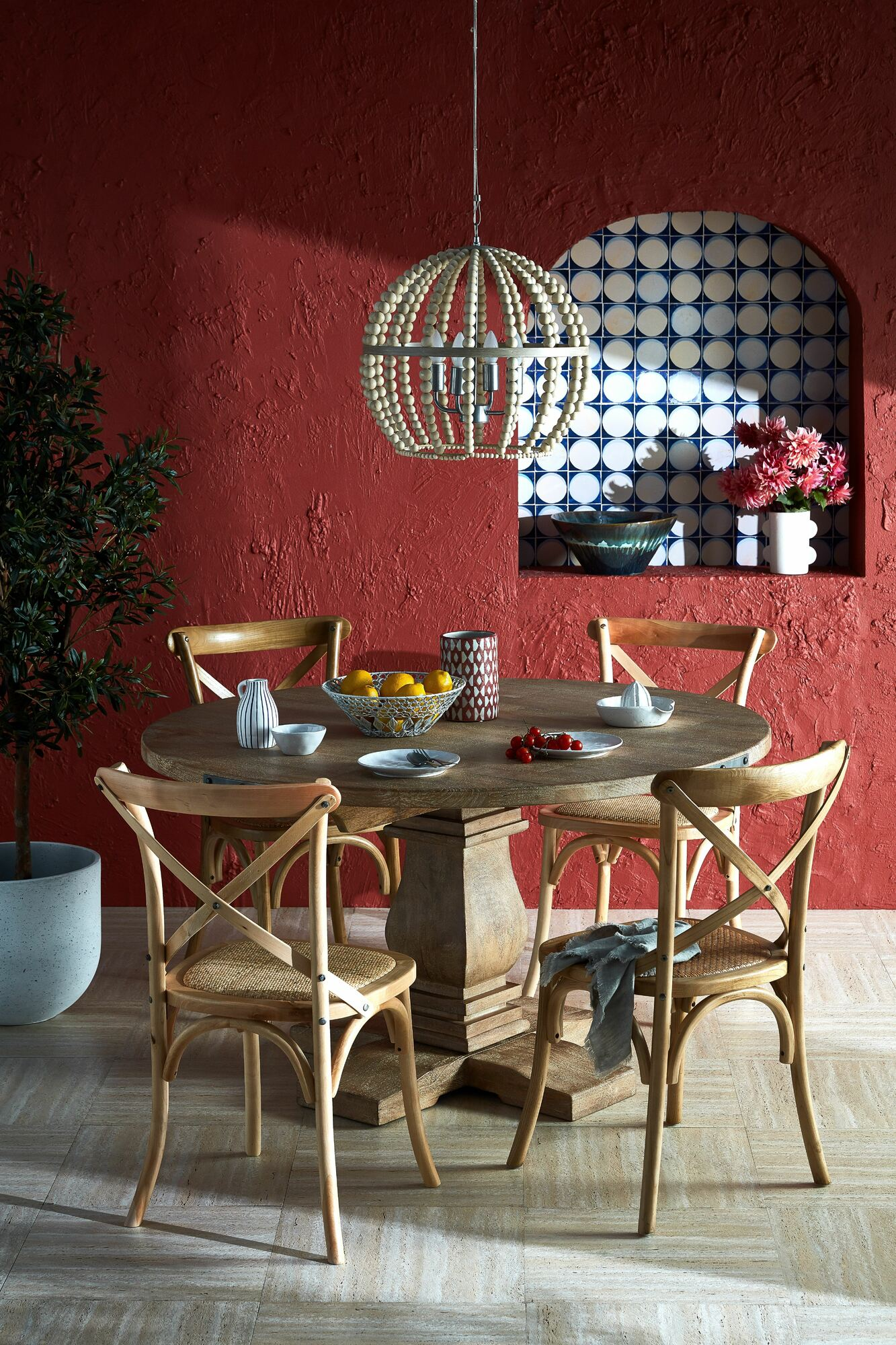 NEW Umbrie Round Dining Table - Dodicci,Dining Tables | eBay
