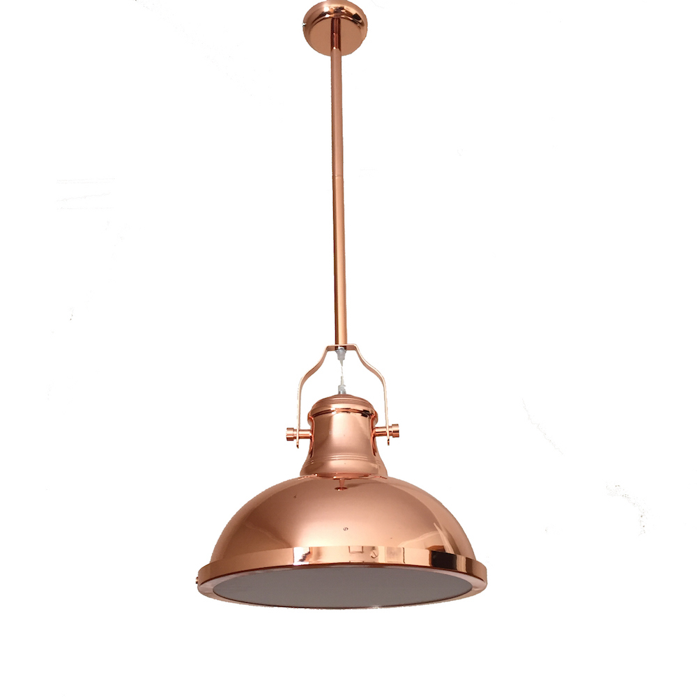 best service 41f4a 46802 Amani Copper Pendant Light