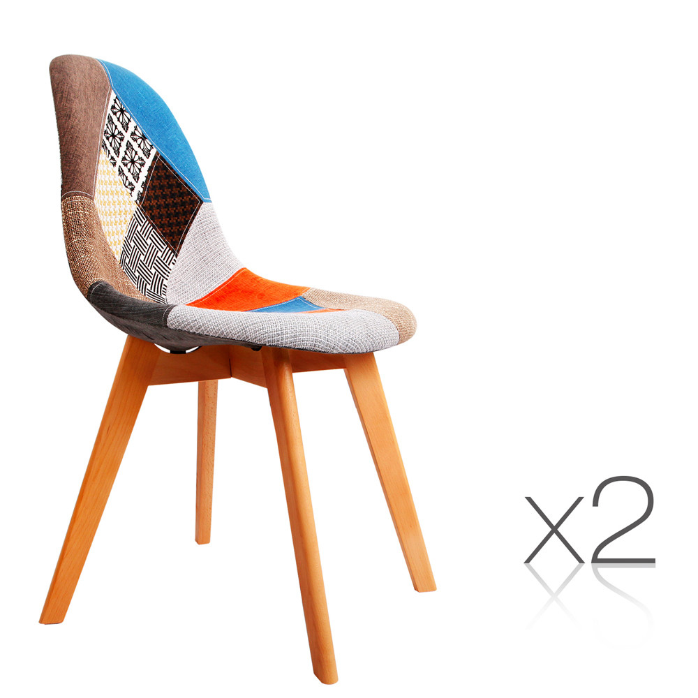 Eames dining chair replica - Sku Ilif3471 Set Of 2 Replica Eames Dining Chairs Fabric Is Also Sometimes Listed Under The Following Manufacturer Numbers Ba Bb Dsw 56fbx2