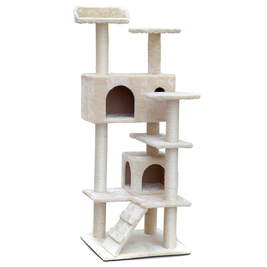 134cm cat tree house condo