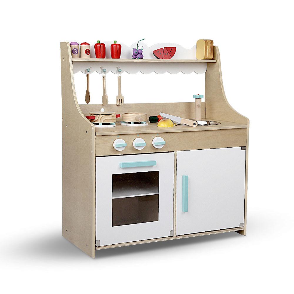 11 Piece Wooden Kitchen Set | Temple & Webster