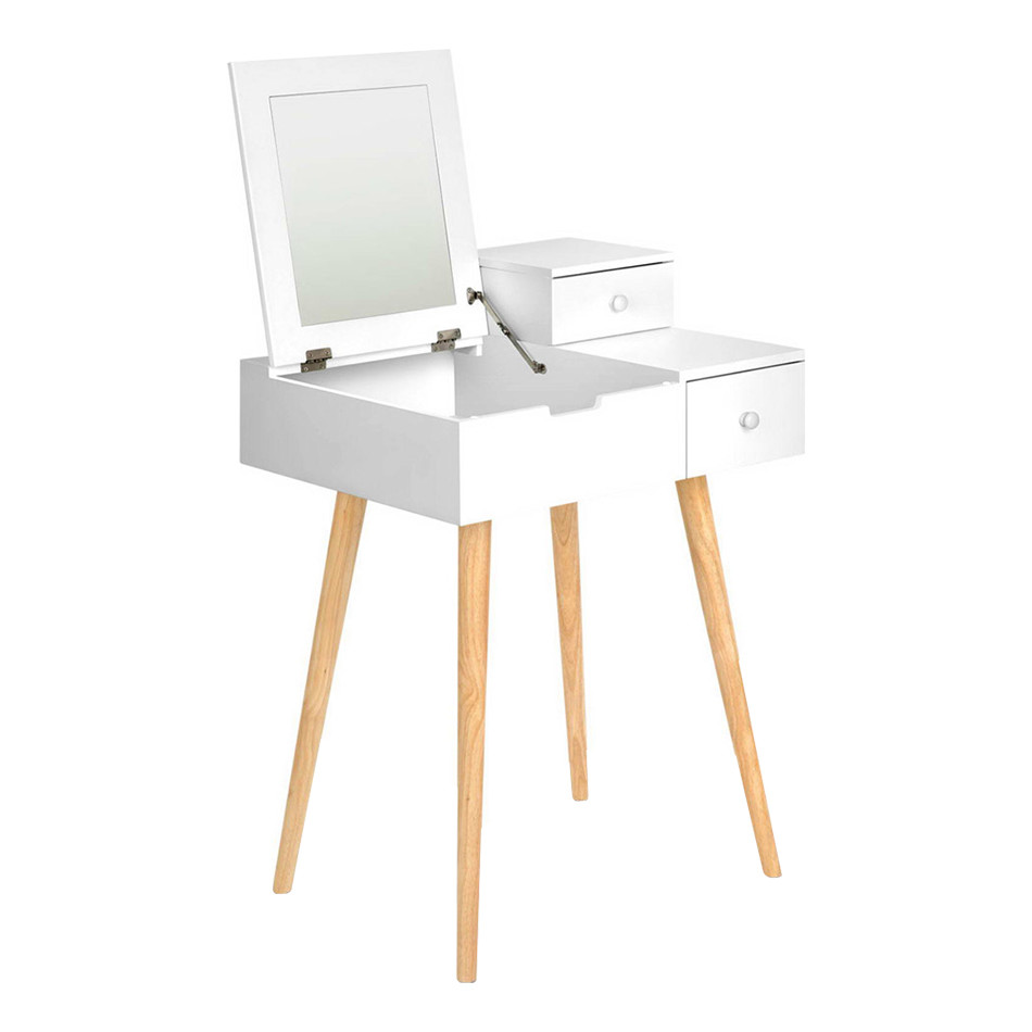 Exceptional SKU #ILIF4040 Dressing Table U0026 Foldaway Mirror Is Also Sometimes Listed  Under The Following Manufacturer Numbers: DRESS B 8064 BK, DRESS B 8064 WH