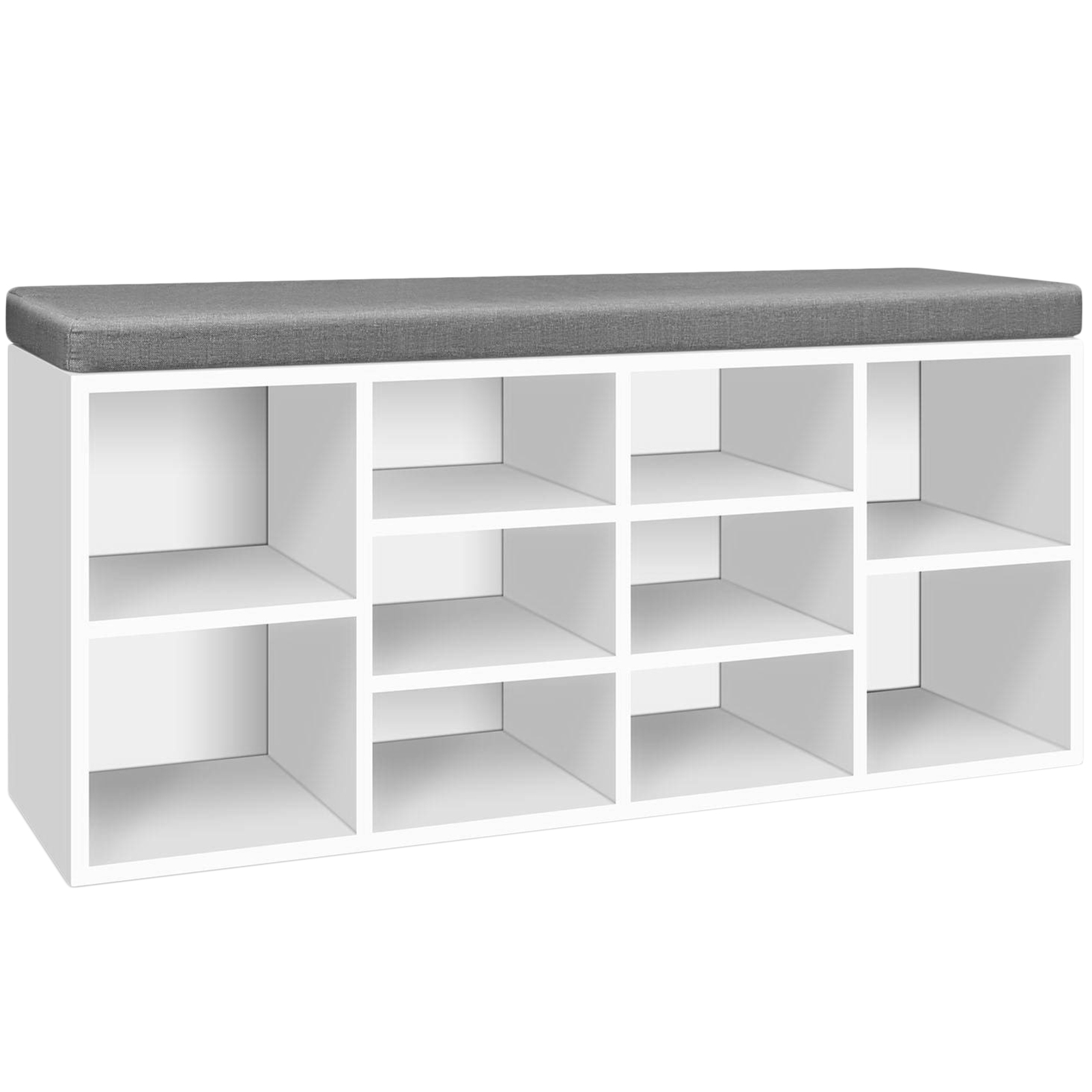 cube bench ip storage white organizer com closetmaid walmart cubeicals