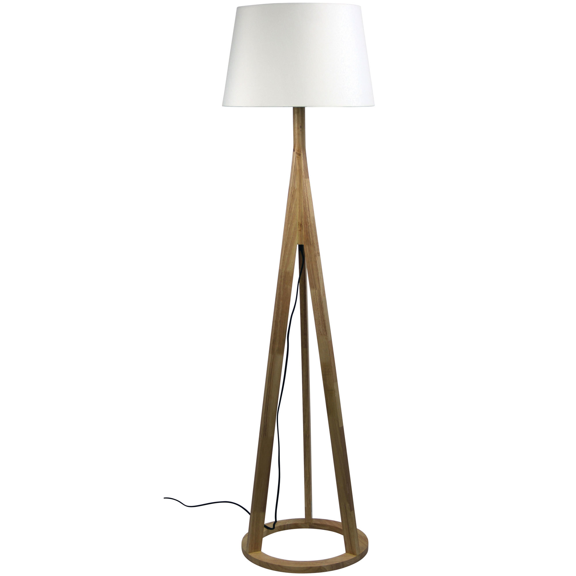 Stabb Timber Floor Lamps | Temple & Webster