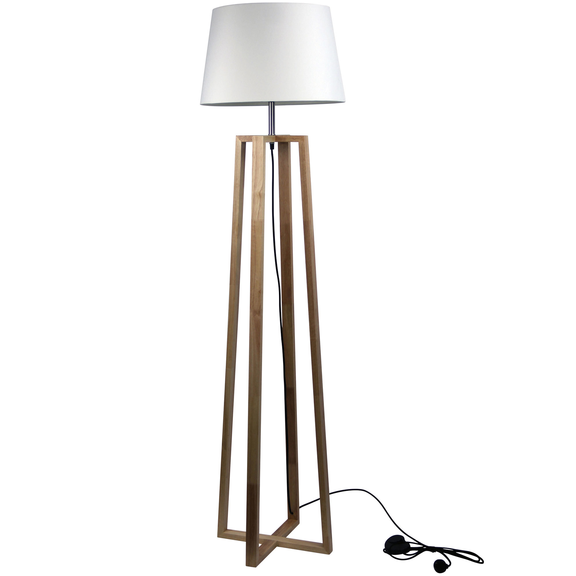 Malmo Timber Floor Lamps | Temple & Webster