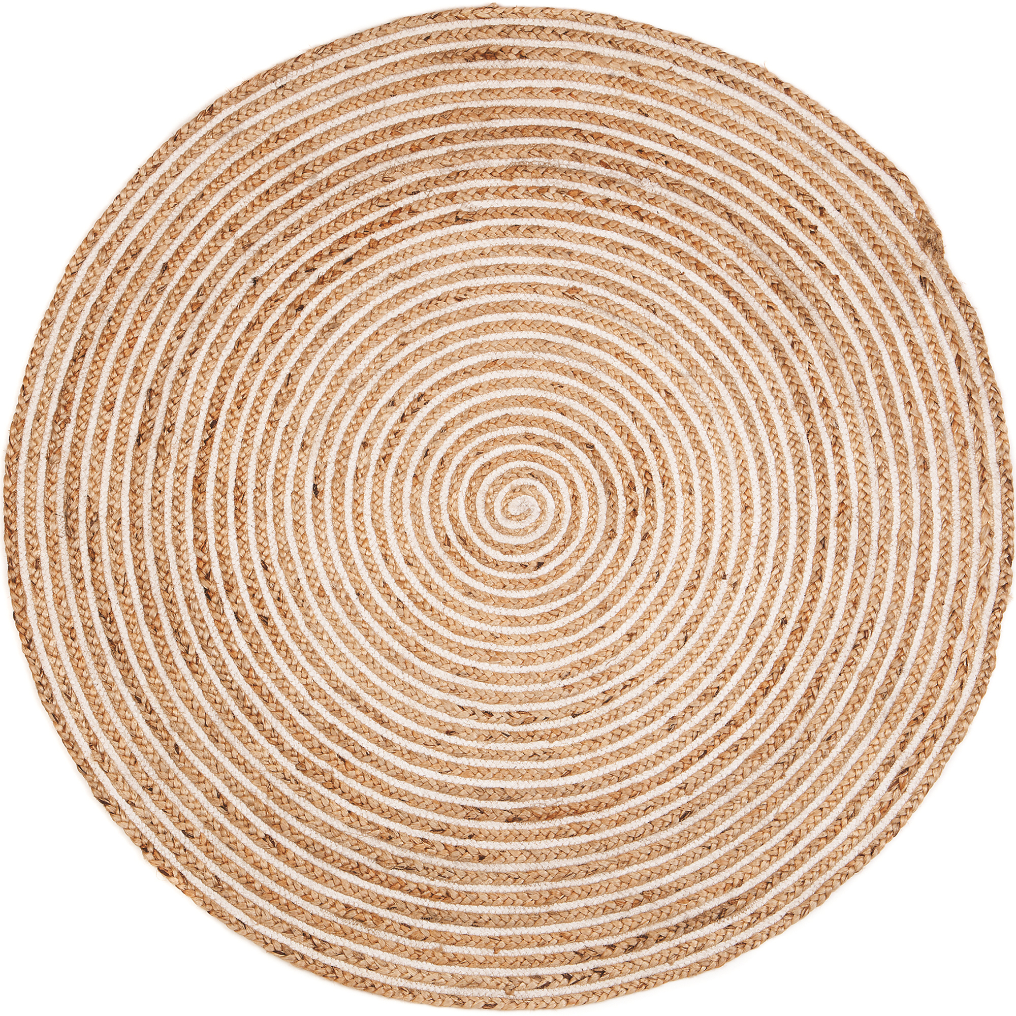 New Plumeria Spiral Round Jute Rug Home Amp