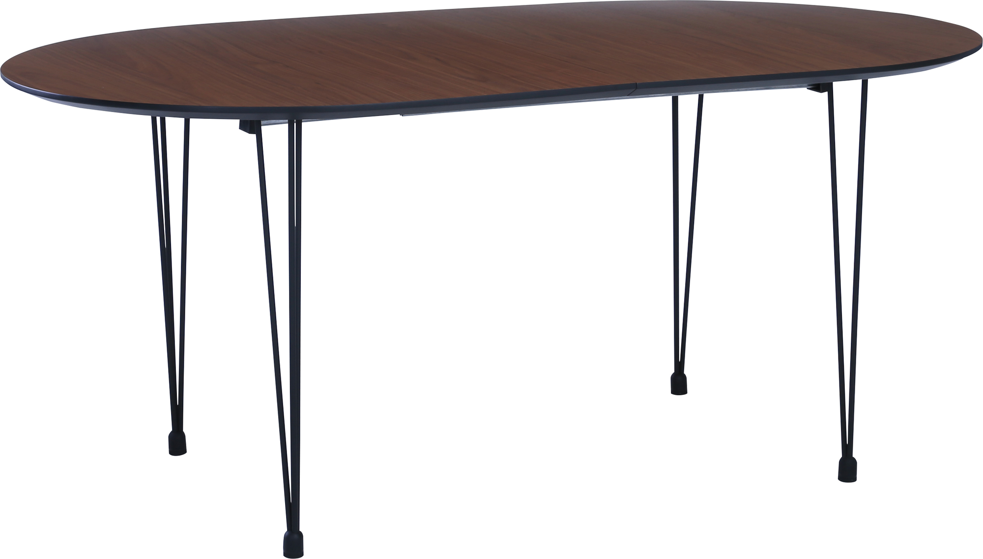 Picture of: Innova Australia Walnut Black Omeo Extendable Dining Table Reviews Temple Webster
