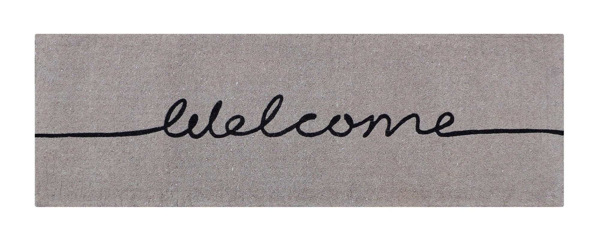 Long Welcome French Doormat | Temple & Webster
