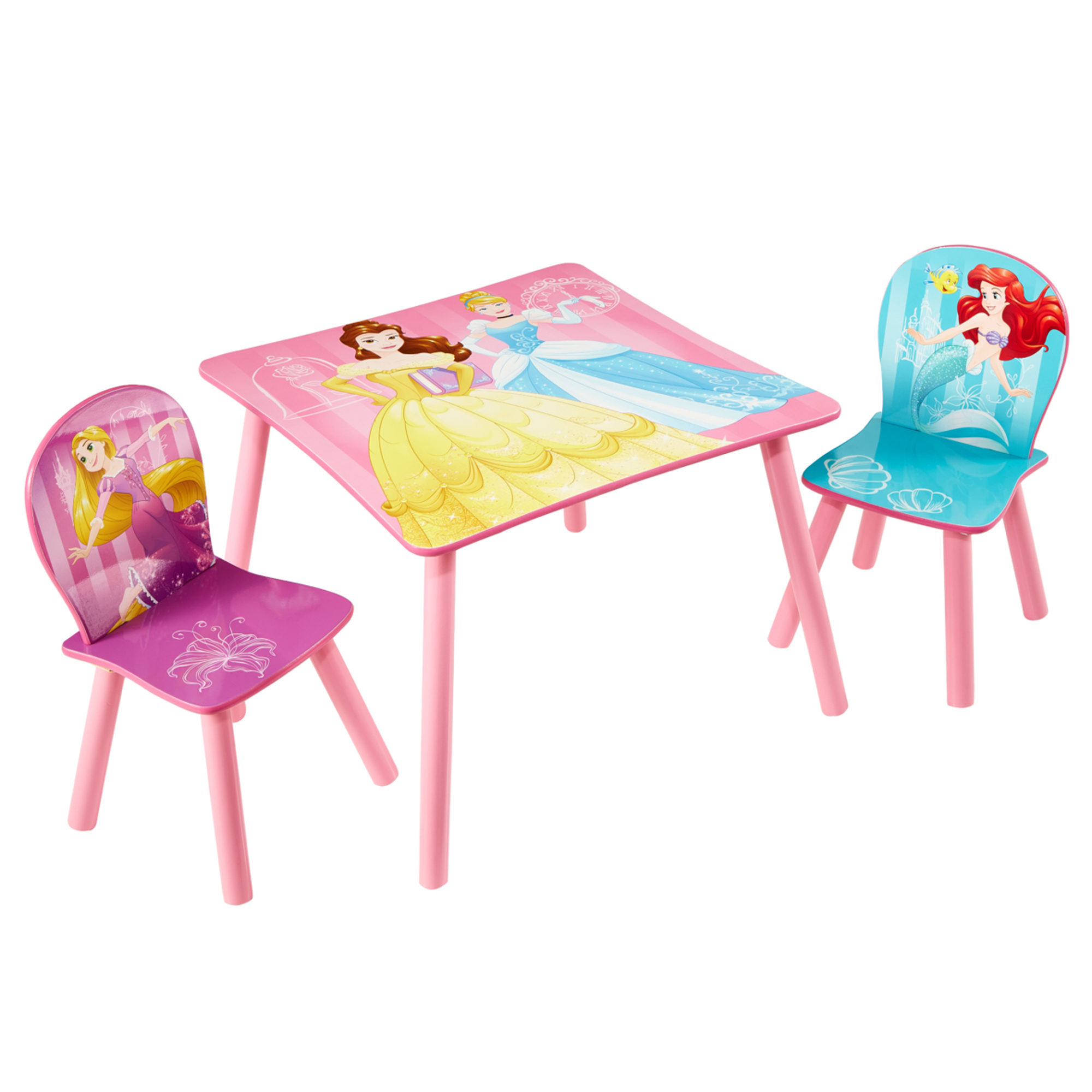 Disney Princess 2 Seater Table & Chairs Set