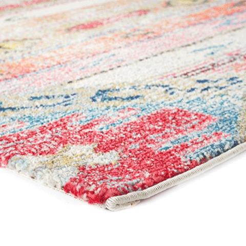 bohemian colorful rugs style vibrant runner long handmade rug
