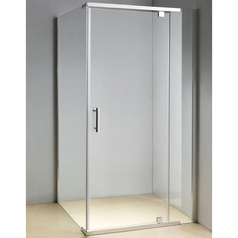 Framed Safety Glass Pivot Door Shower Screen