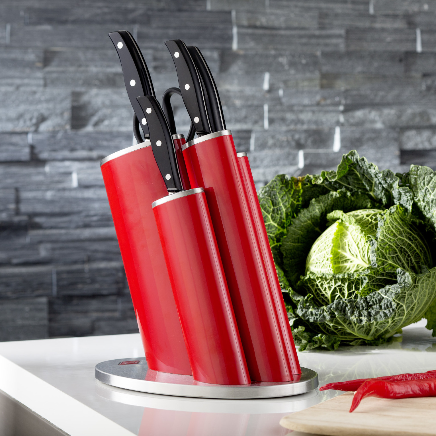 NEW-Asia-Knife-Block-with-Knives