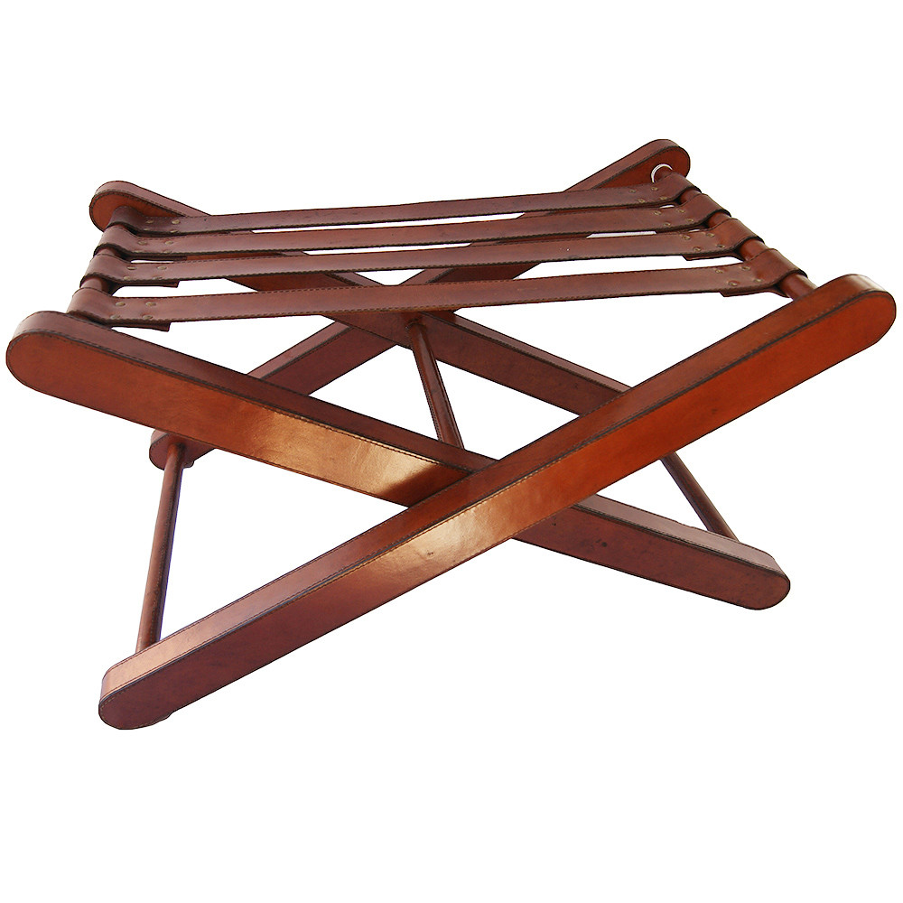 SKU #KNDR1102 Tan Leather Luggage Rack Is Also Sometimes Listed Under The  Following Manufacturer Numbers: O1tan