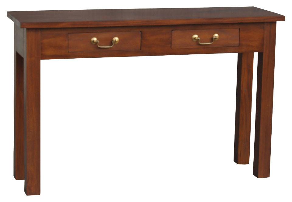 New 2 drawer straight leg sofa table la verde console tables ebay new 2 drawer straight leg sofa table la watchthetrailerfo