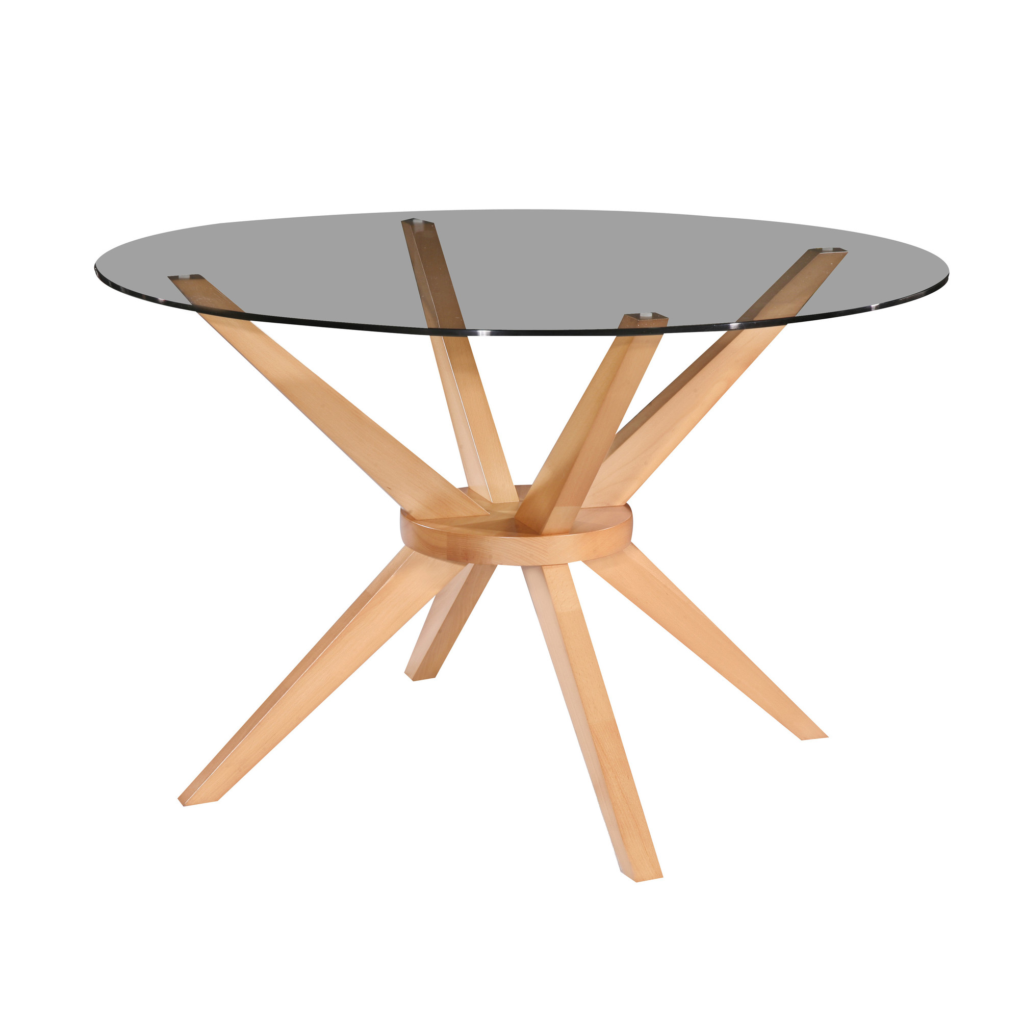 oslo home 120cm beech banza round dining table reviews temple
