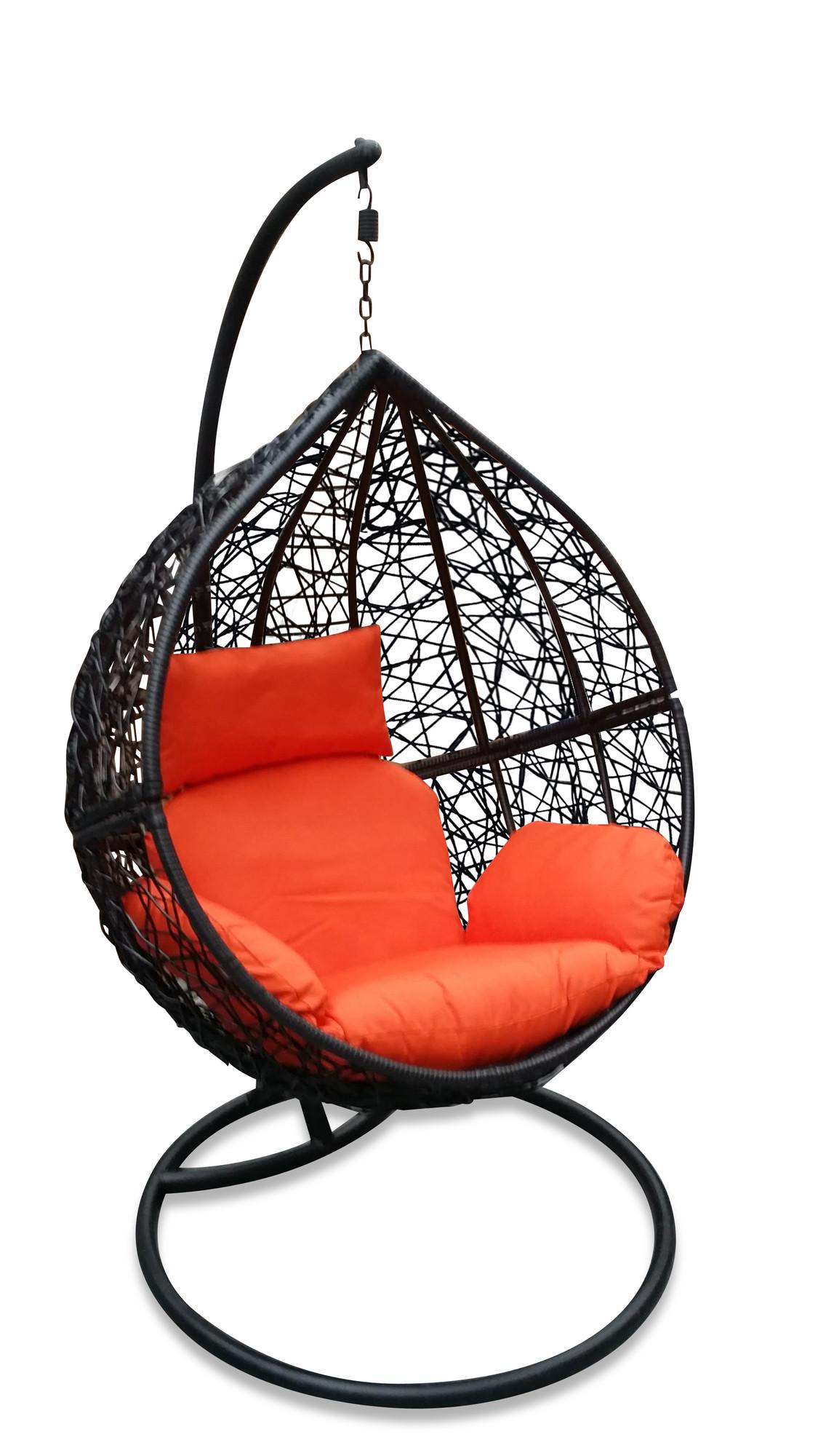 NEW Black Hanging Ball Chair