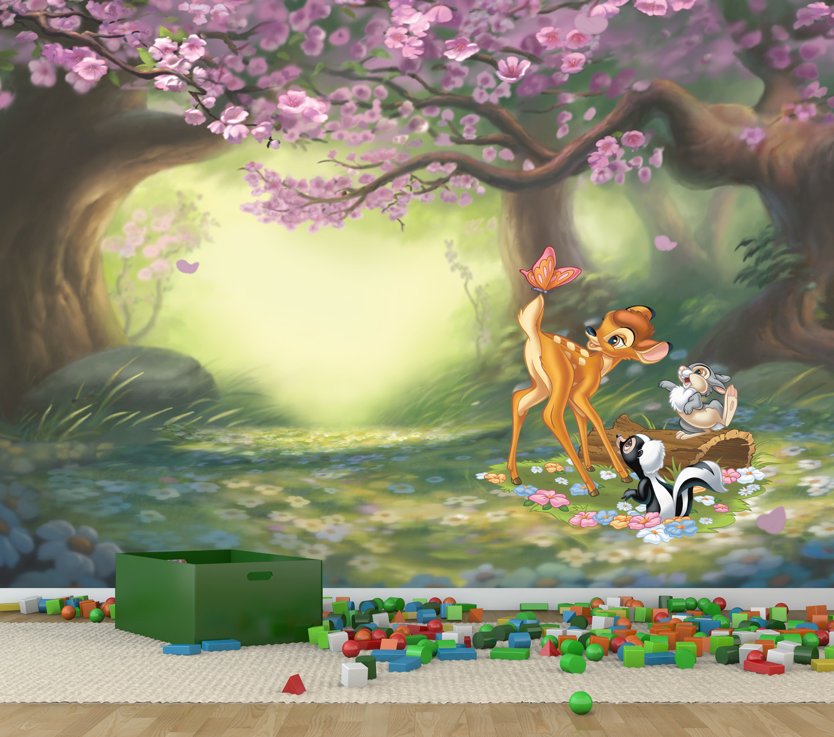 bambi butterfly fun full wall mural temple webster sku part1274 bambi butterfly fun full wall mural is also sometimes listed under the following manufacturer numbers bamw002l bamw002m bamw002mini