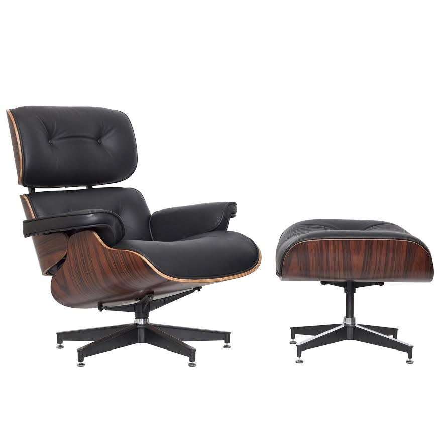 SKU #TPWT1081 Eames Premium Leather Replica Lounge Chair U0026 Ottoman Is Also  Sometimes Listed Under The Following Manufacturer Numbers: YSNLGBKL,  YSNLGBWL