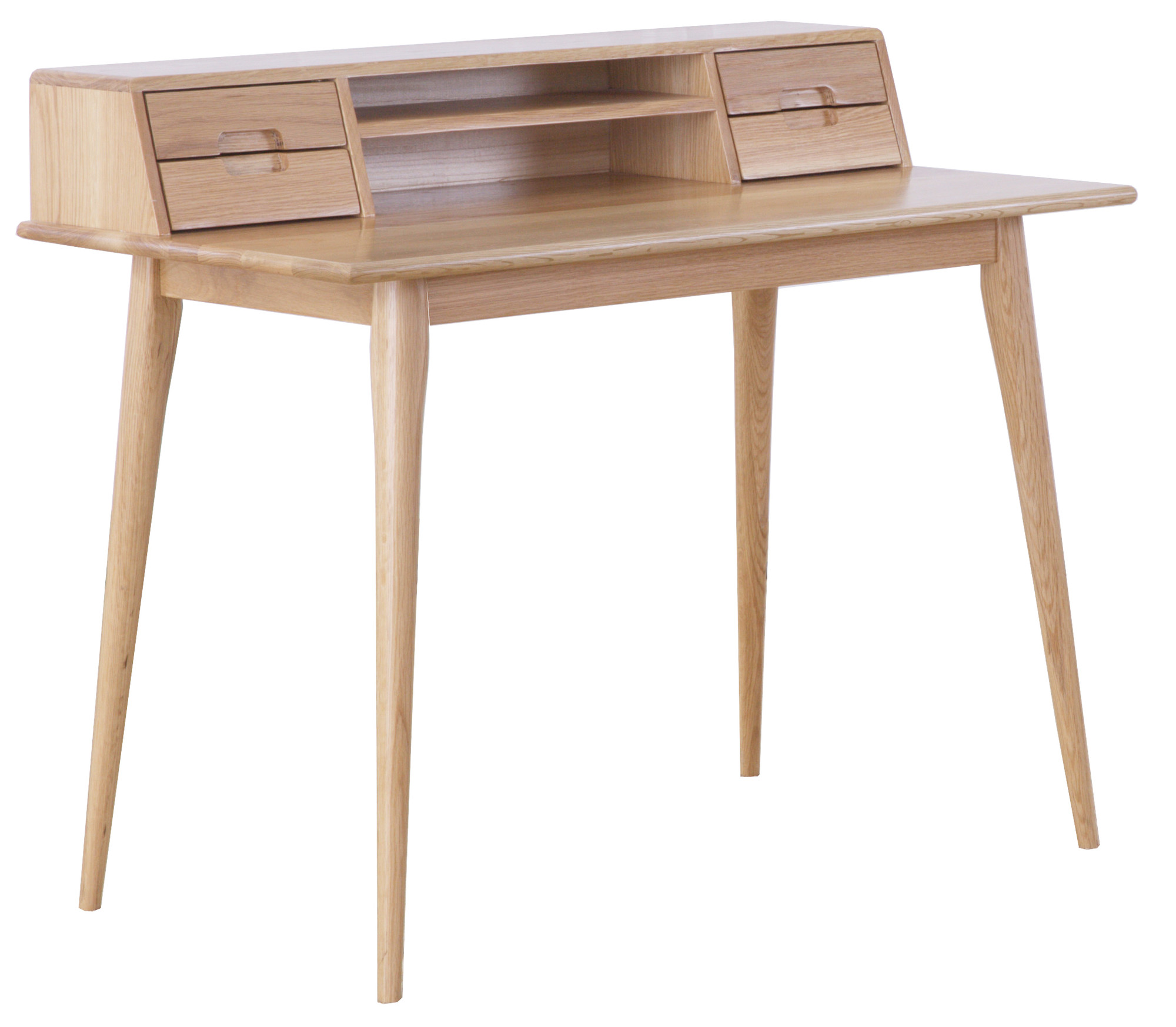 NEW Oscar Oak Scandinavian Style Desk
