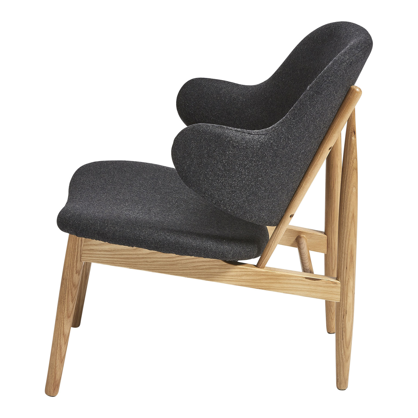 New Milan Direct Ib Kofod Larsen Replica Easy Lounge Chair Ebay # Easylounge Meuble Tv