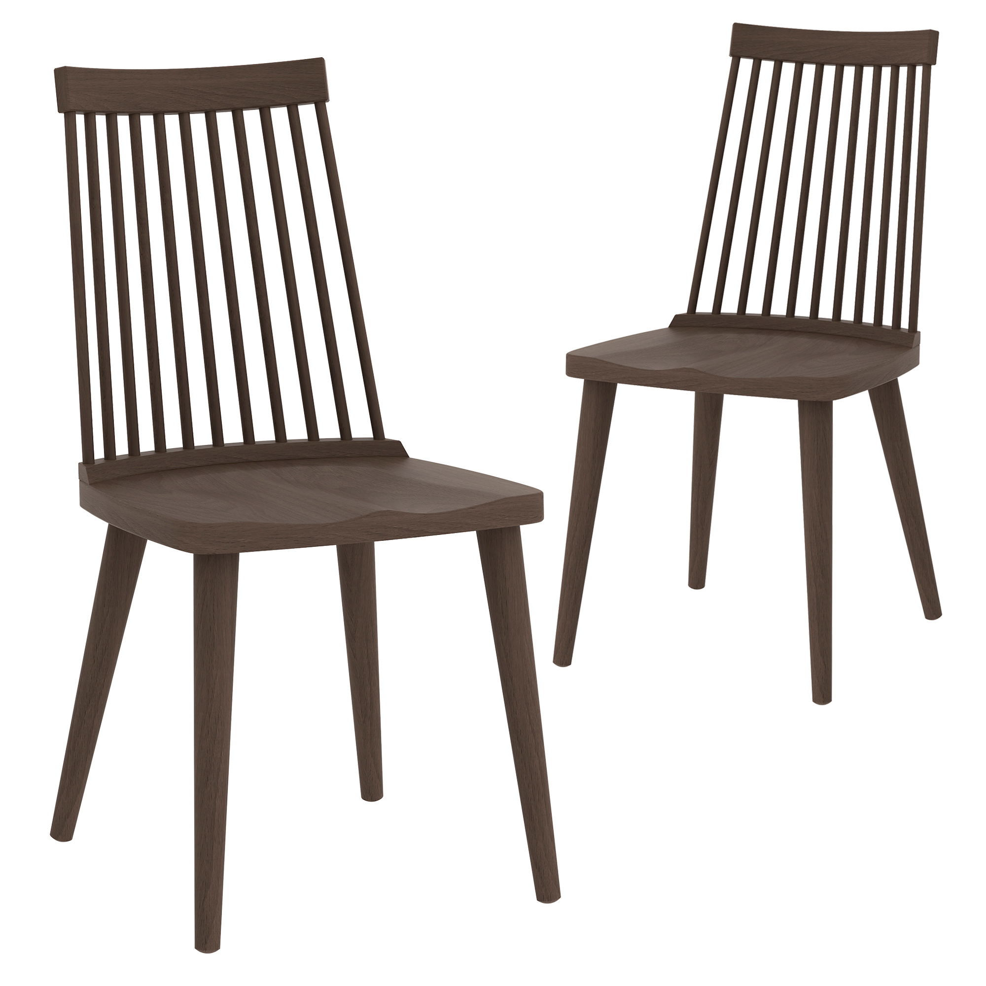 Sku tpwt2596 walnut spindle retro dining chairs is also sometimes listed under the following manufacturer numbers iwsrdwlw