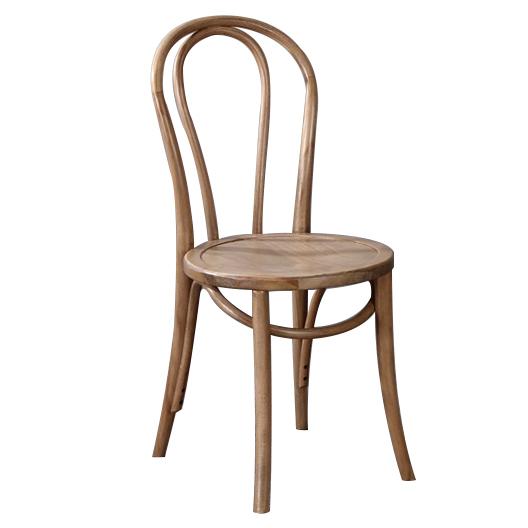 new set of 2 rustic oak thonet replica bentwood chairs ebay