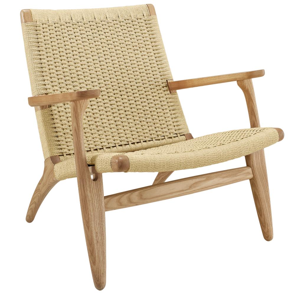 NEW Hans Wegner Replica CH25 Easy Woven Chair - Milan ...