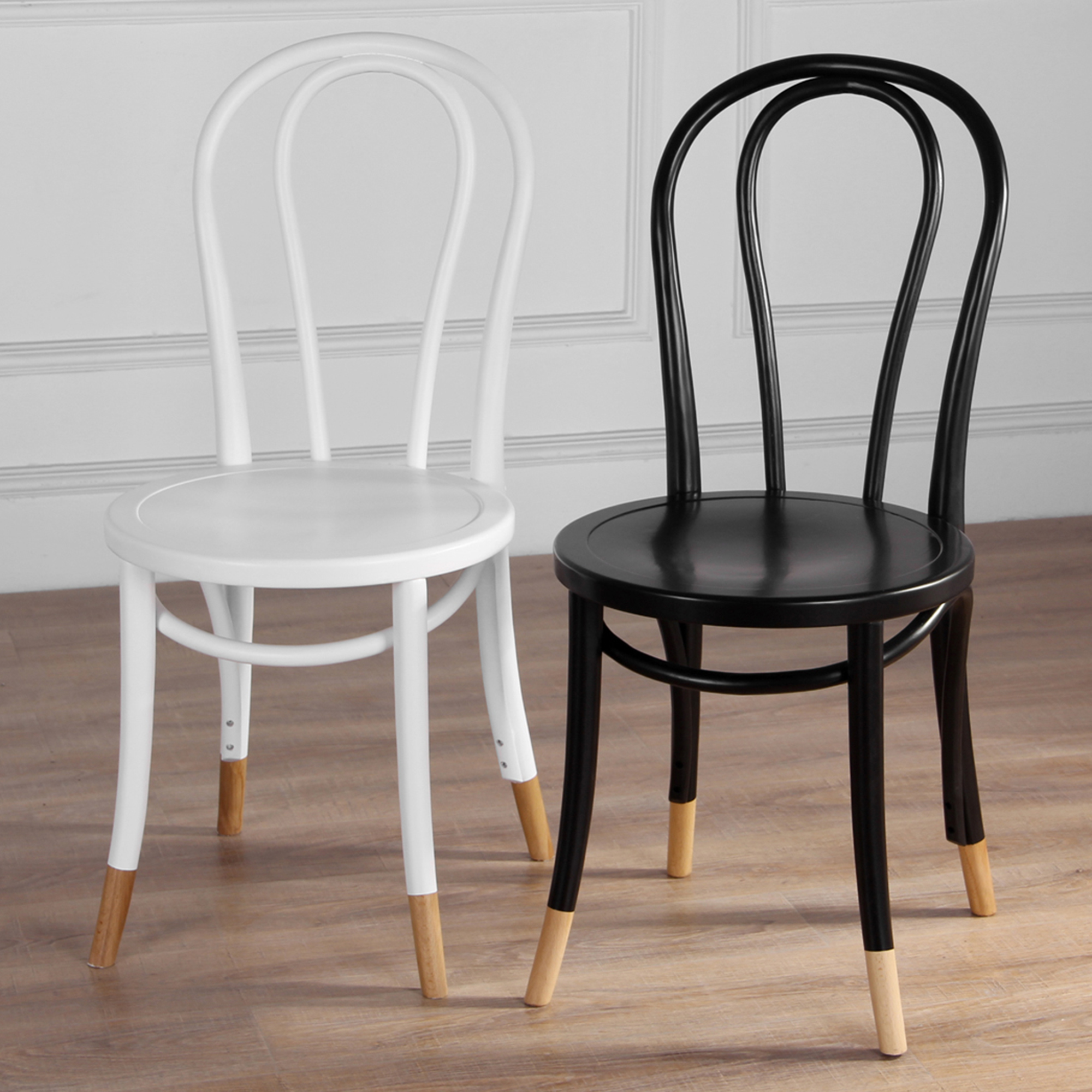 new set of 2 replica bentwood chairs with natural socks ebay