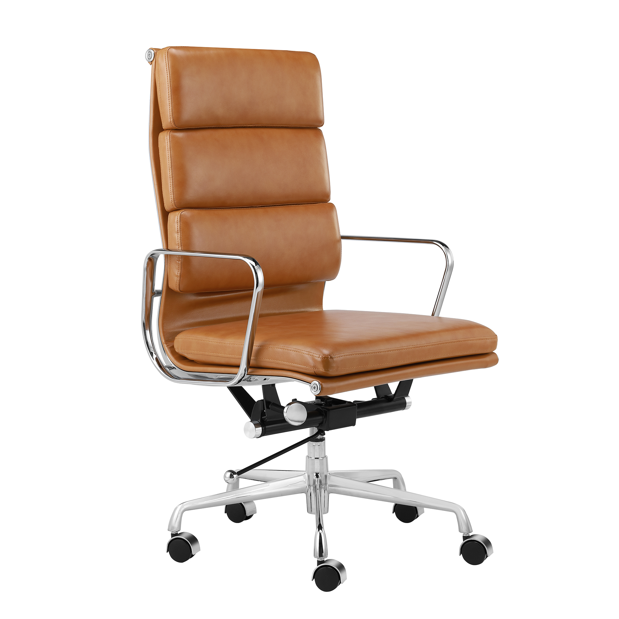 Terrific Eames Premium Leather Replica High Back Soft Pad Management Office Chair Andrewgaddart Wooden Chair Designs For Living Room Andrewgaddartcom