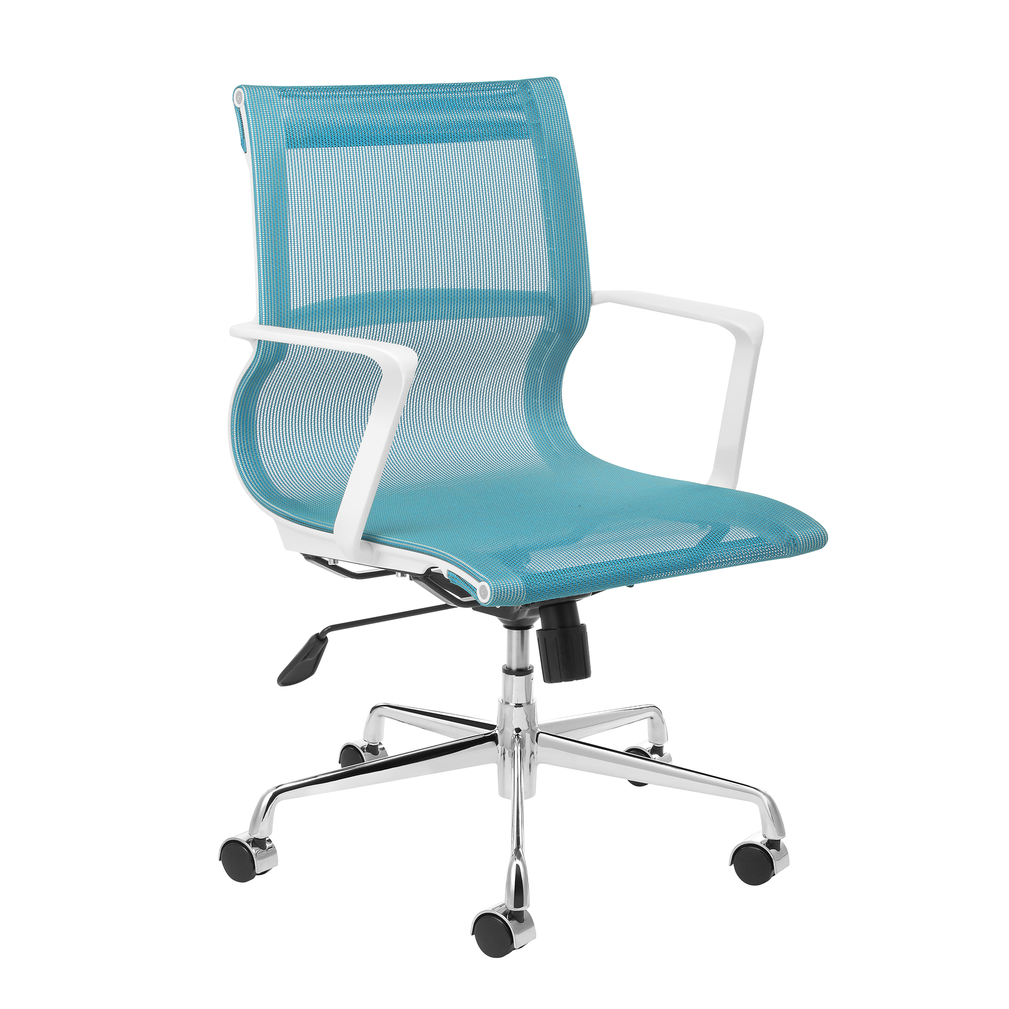 New Blue Management Premium Mesh Office Chair Milan Direct Office Chairs Ebay