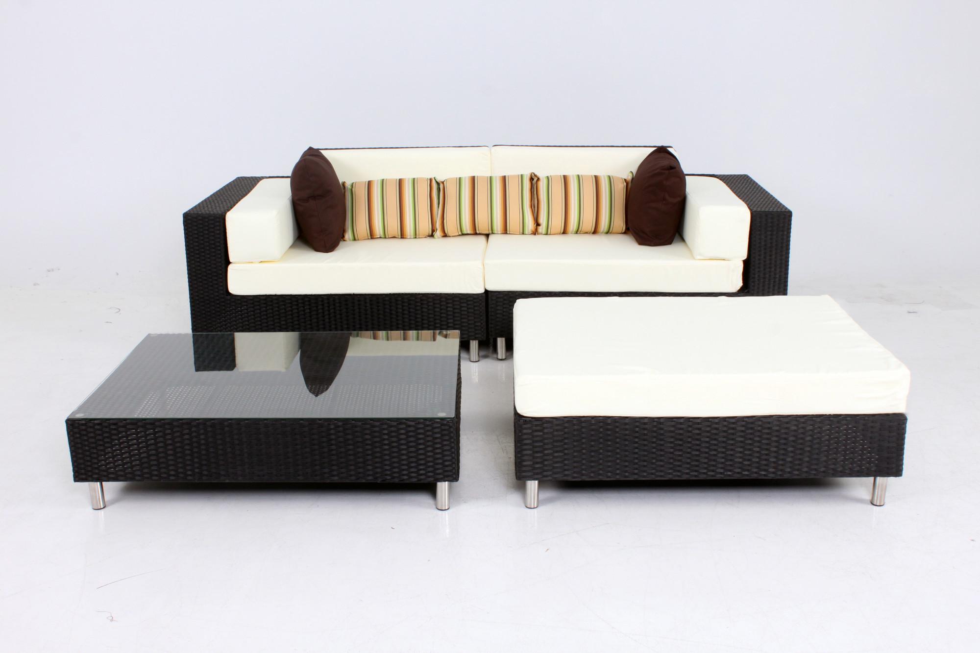 4 Piece Outdoor Modular Sofa Set