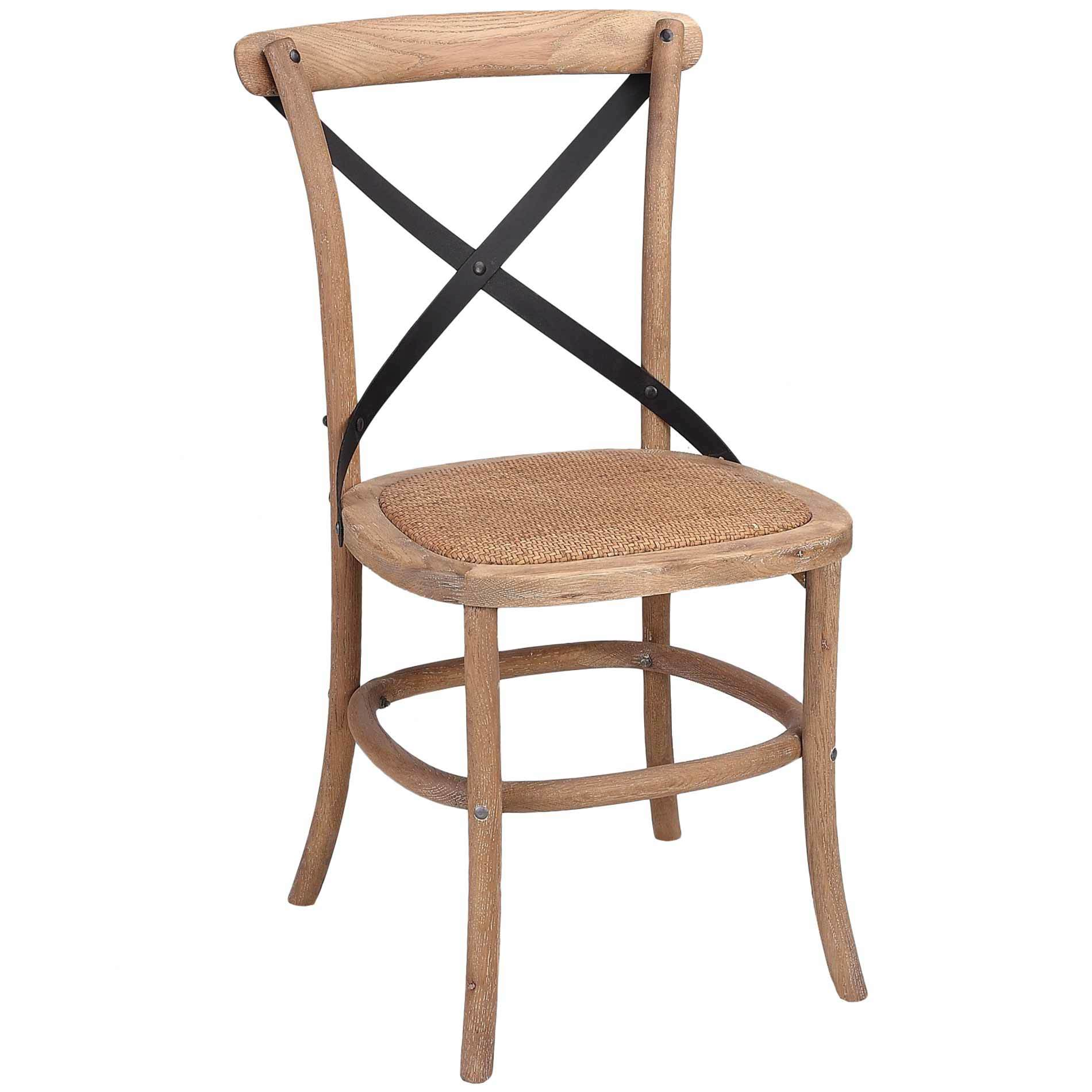 Merveilleux SKU #HOFL1016 French Country Metal Cross Back Dining Chair With Rattan Seat  Is Also Sometimes Listed Under The Following Manufacturer Numbers: HWC008