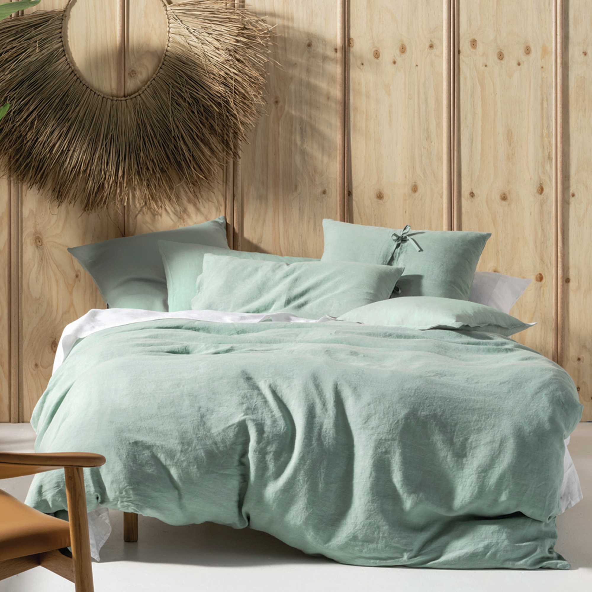 Linen House Nimes Wine Queen King Super King Quilt Cover Set