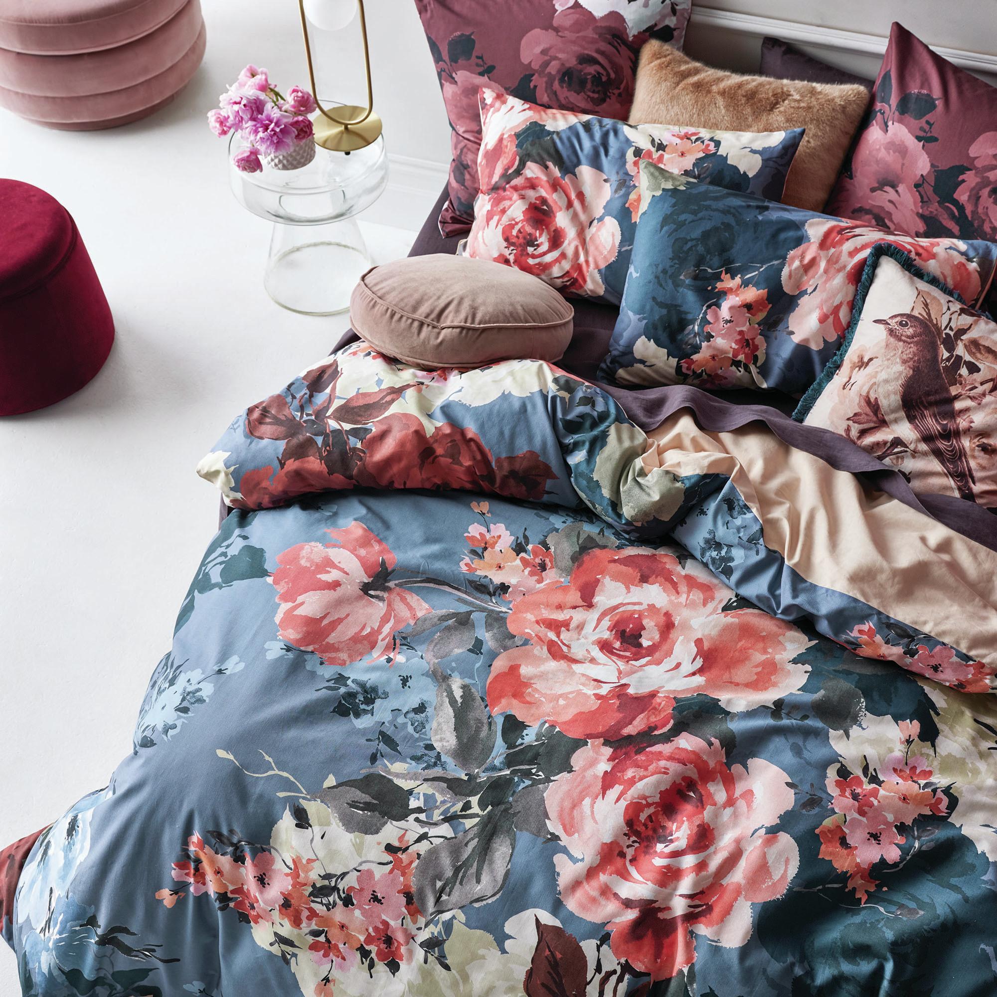 Linen House Multi Coloured Primrose Cotton Quilt Cover Set Reviews Temple Webster