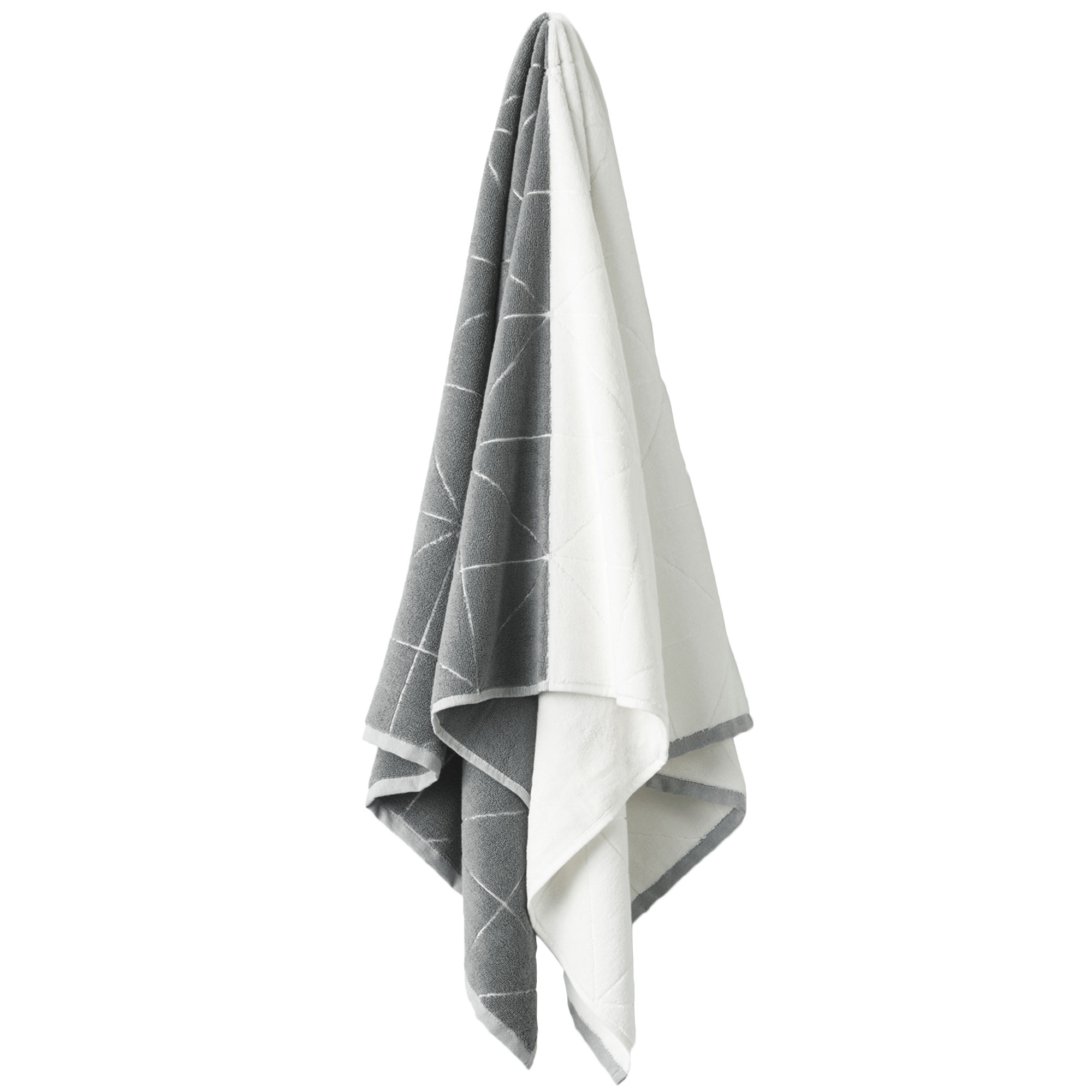 NEW-Smoke-amp-White-Duet-Bath-Collection-Aura-By-Tracie-Ellis-Bath-Towels