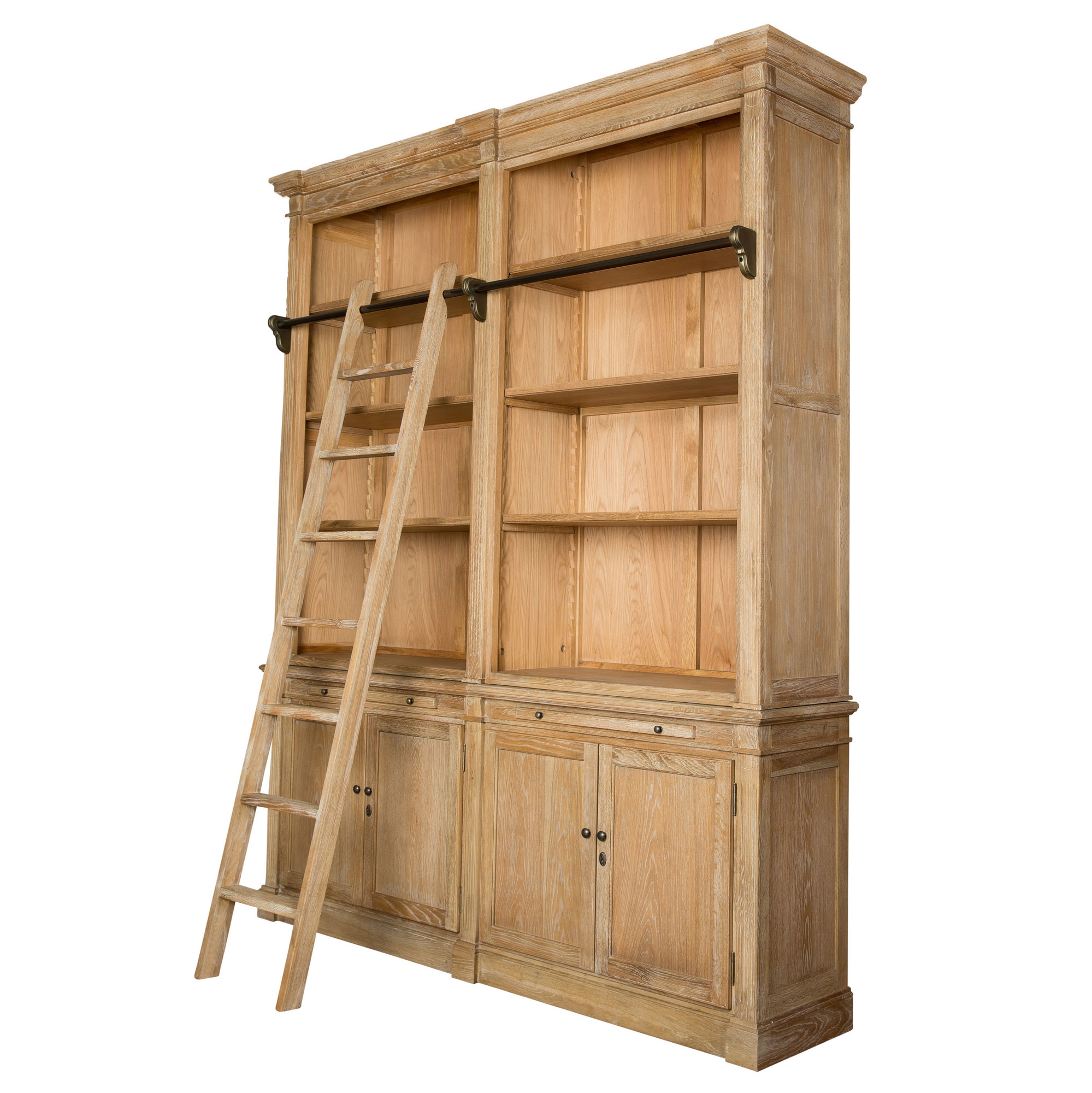 nomadic ladder shelf library decorator used with bookcase bookcases as
