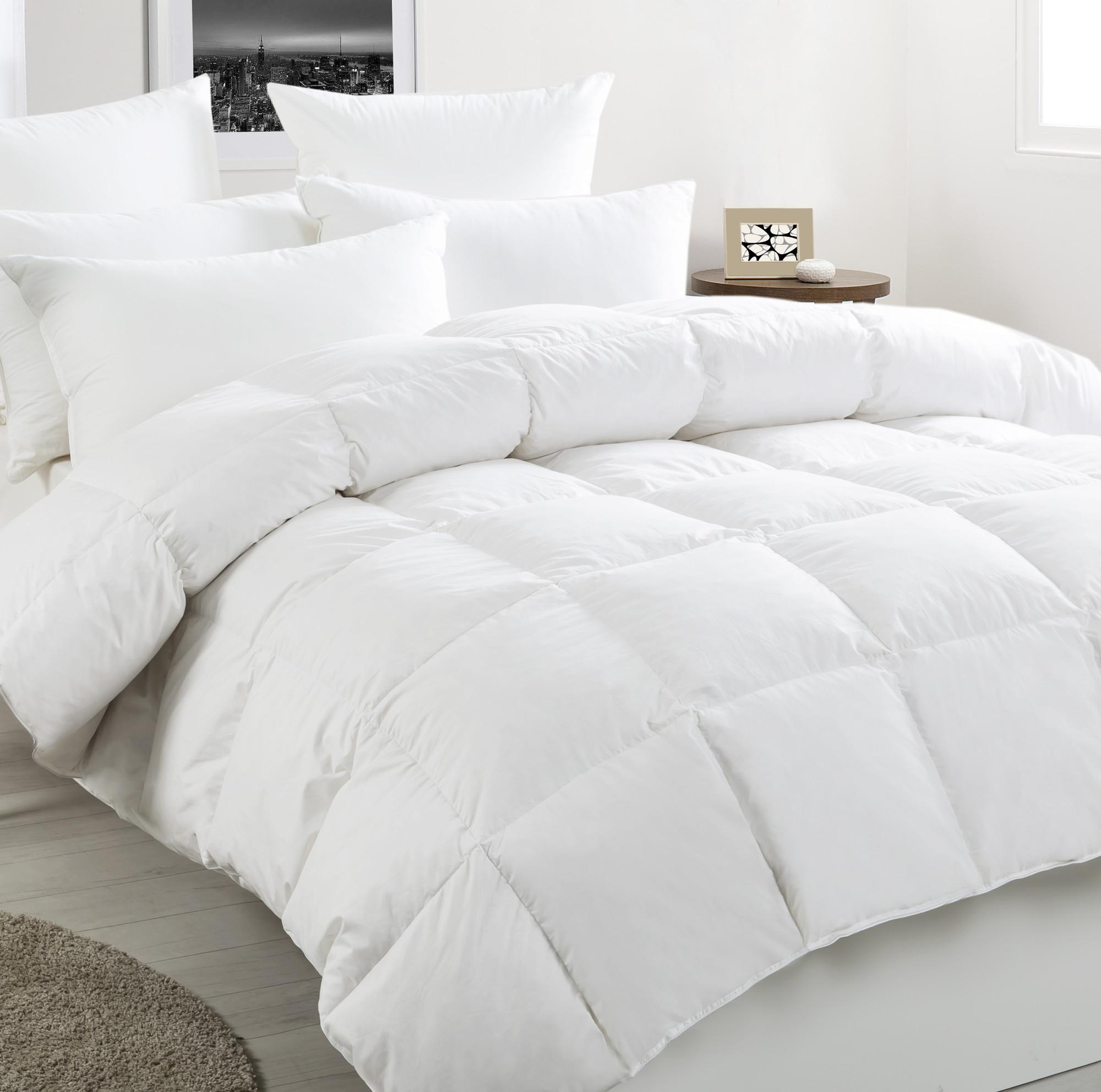 soft white feather com walmart somerset comforter duvet blend duck bedding quilt ip cotton home down