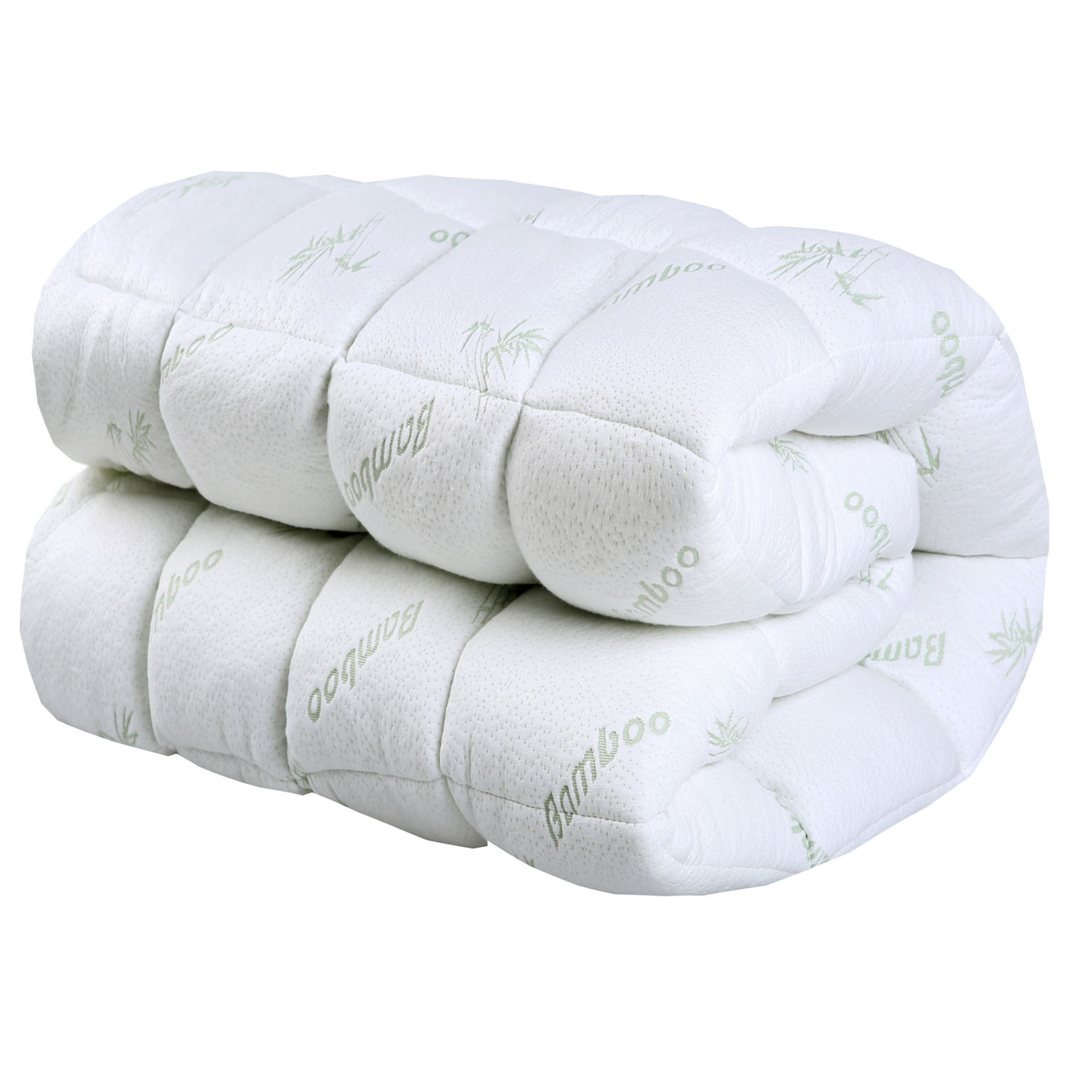 pt pillowtop pad mattress ec egg parent protector bedding giselle crate bamboo itm topper cotton